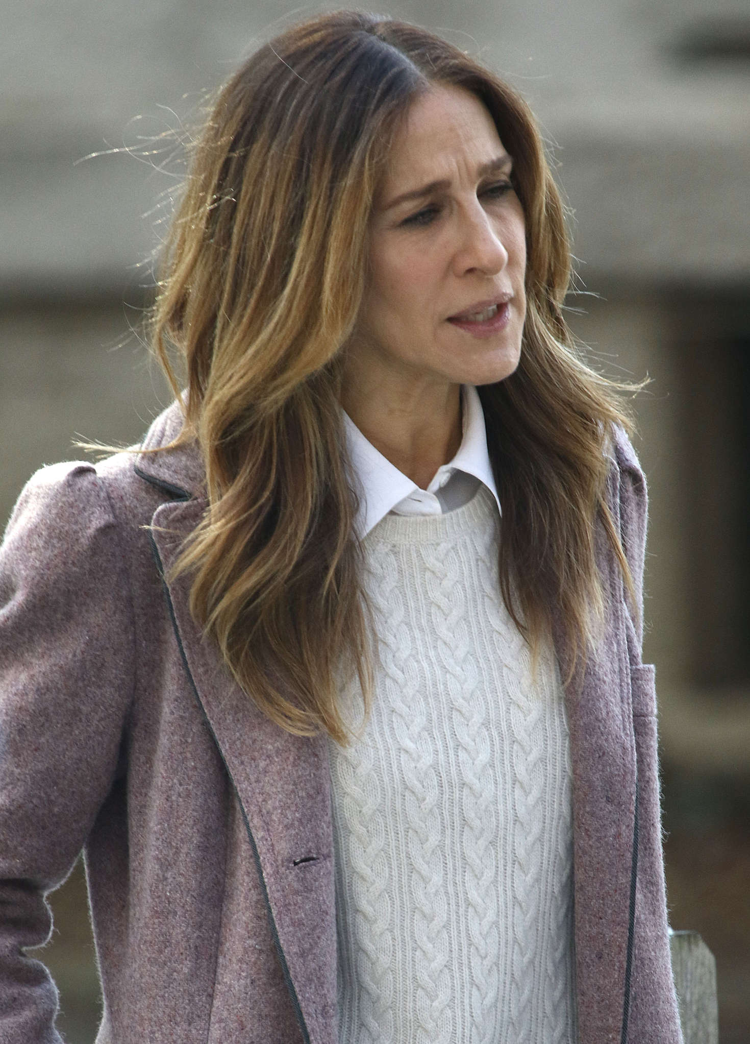 Sarah Jessica Parker Filming Divorce in New York