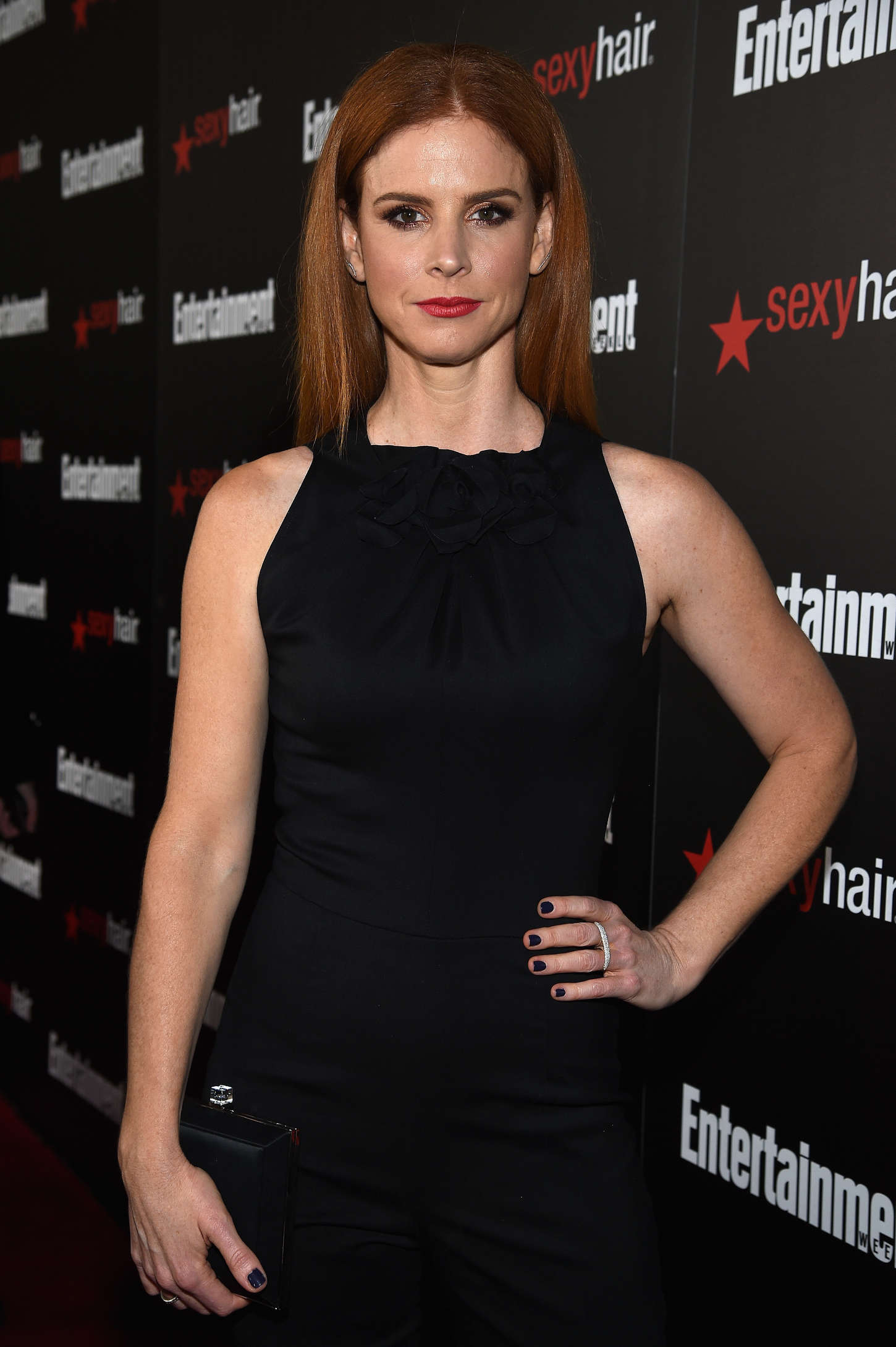 Sarah Rafferty Entertainment Weeklys SAG Awards Nominees in Los Angeles