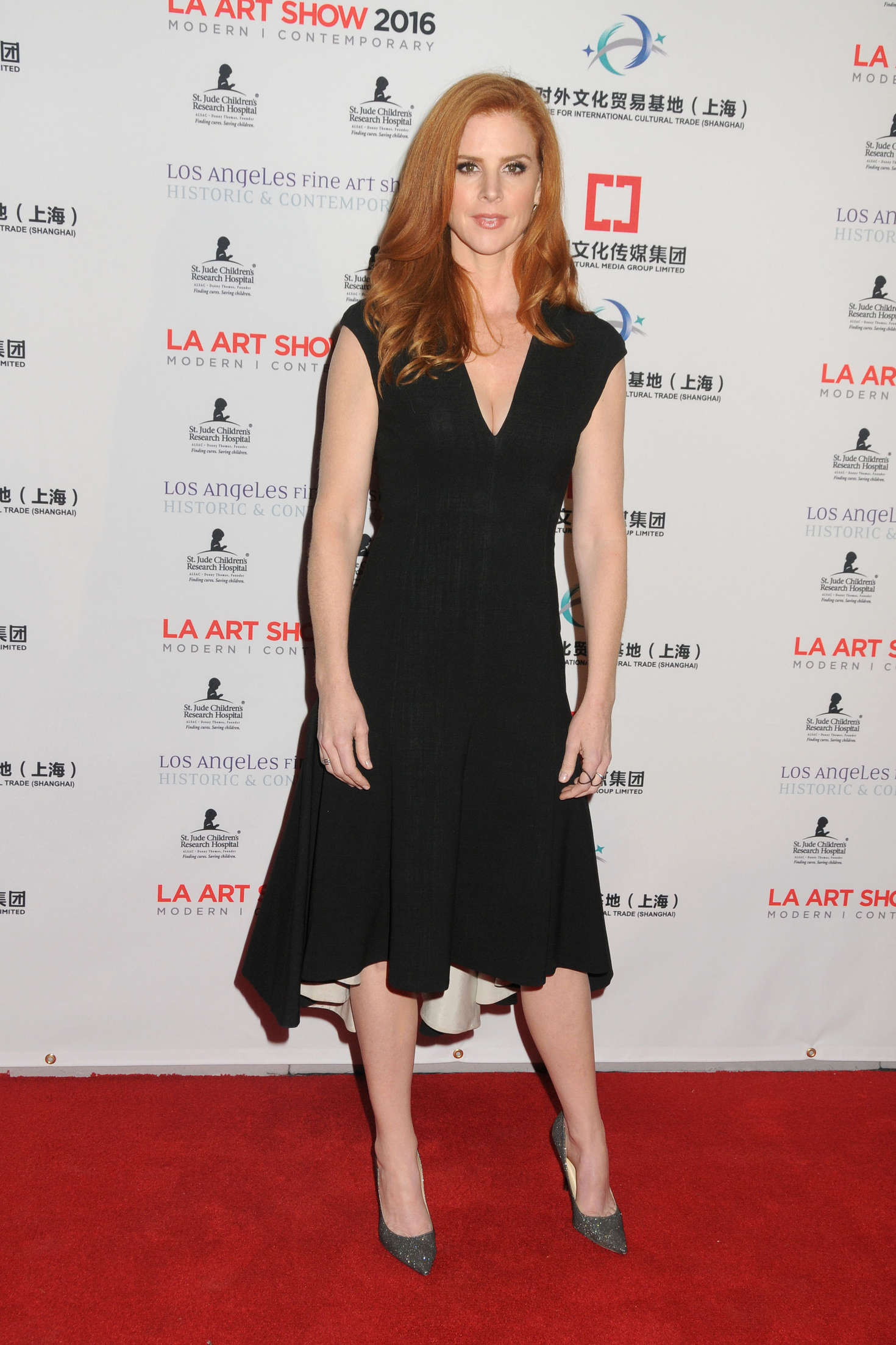Sarah Rafferty The Los Angeles Art Show and The Los Angeles Fine Art Show in Los Angeles