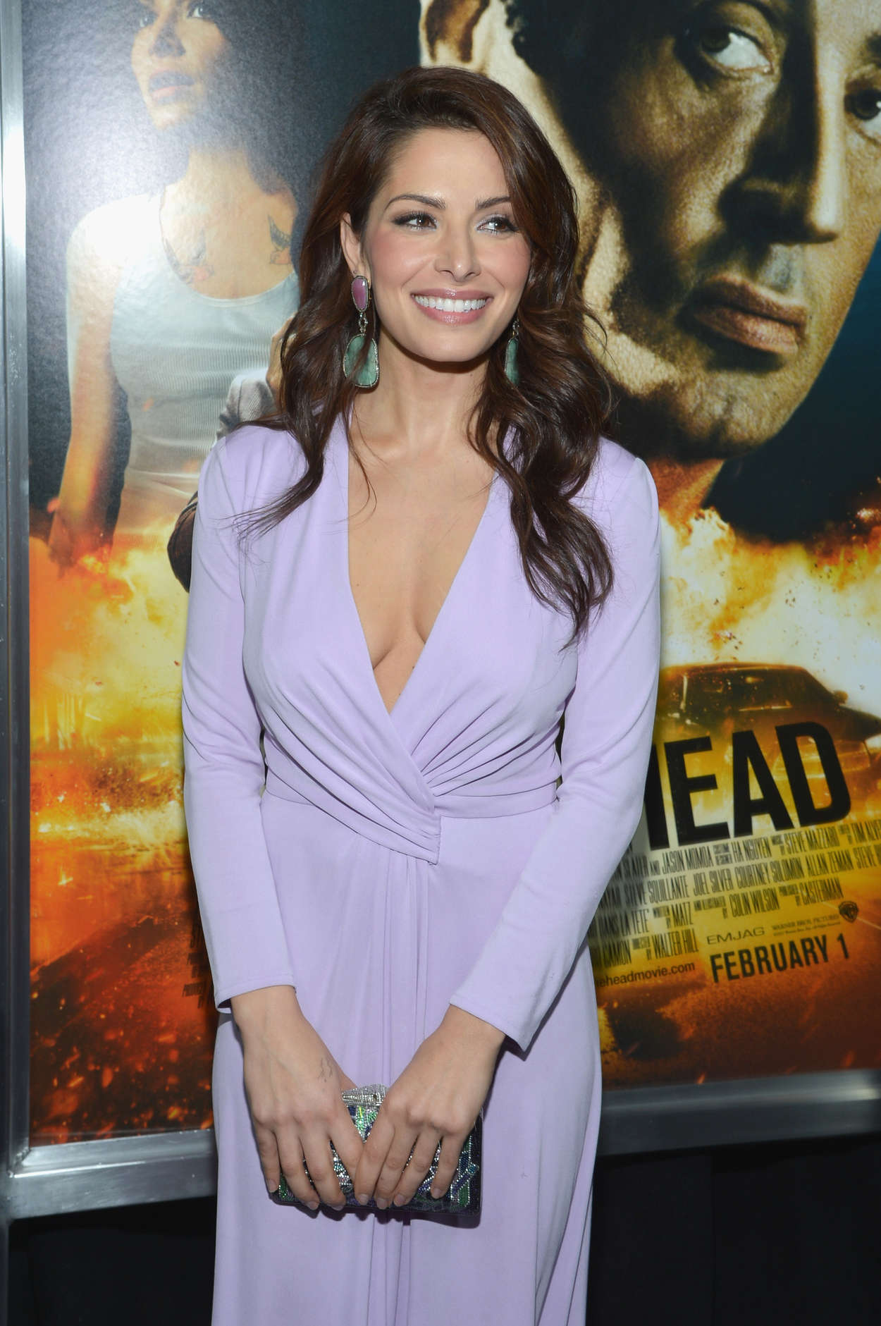 Sarah Shahi Bullet To The Head premiere in New York