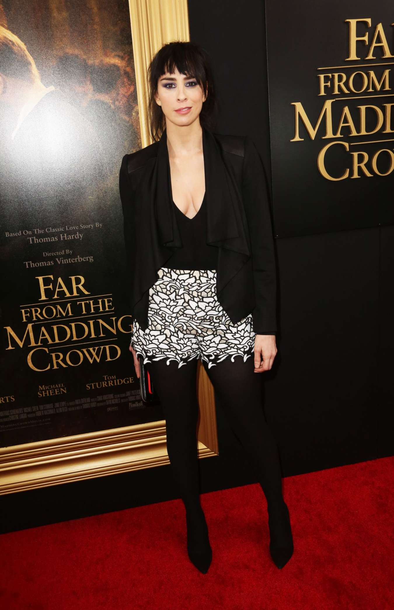 Sarah Silverman Far From The Madding Crowd Premiere in New York City