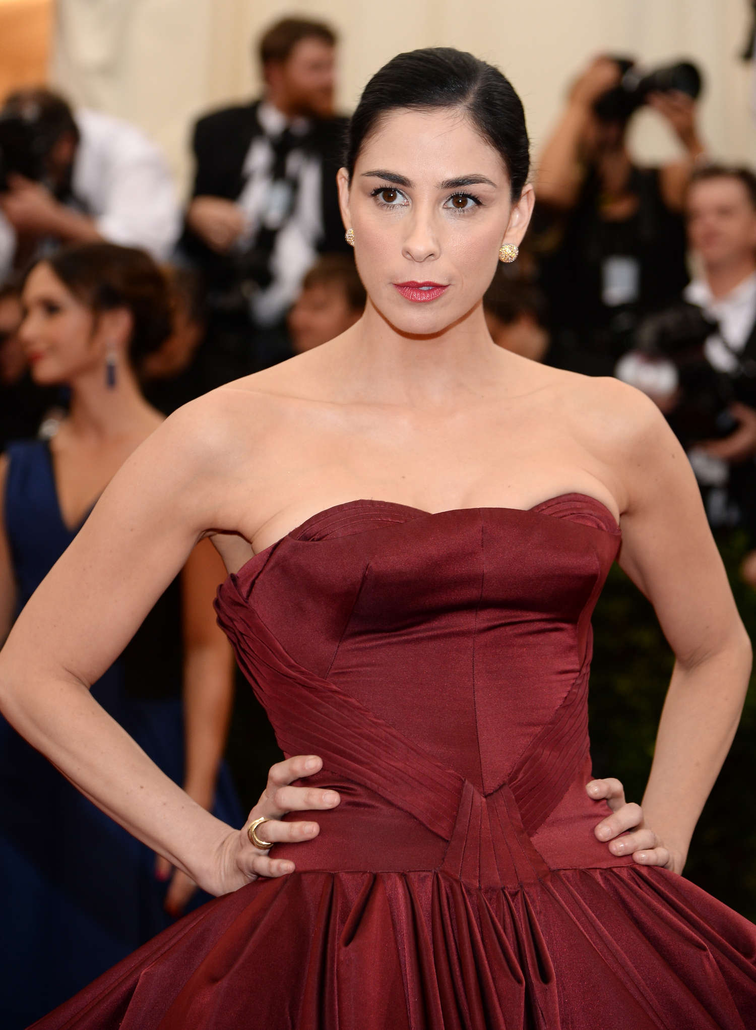 Sarah Silverman Met Gala in New York