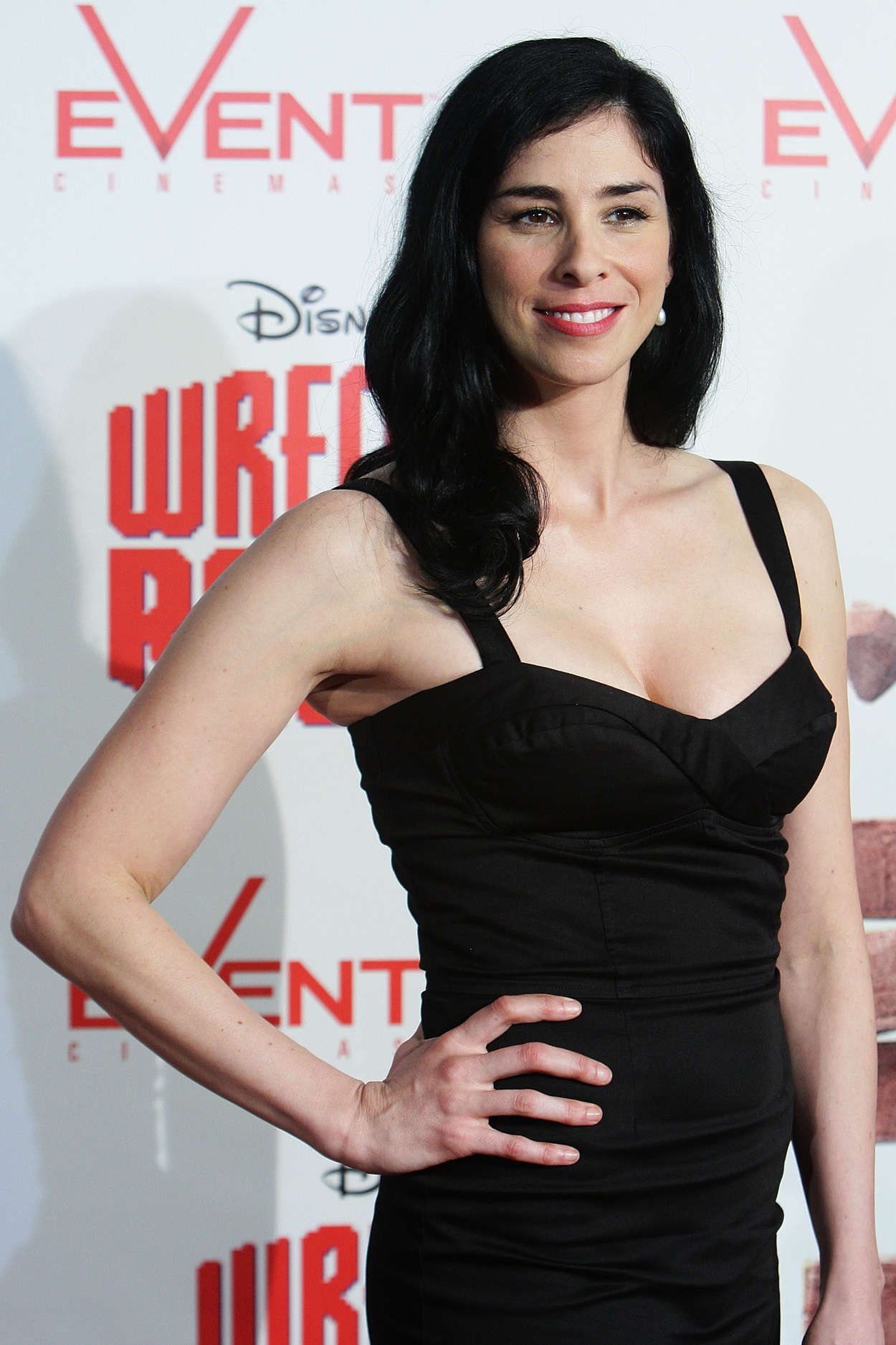Sarah Silverman Wreck It Ralph Premiere in Sydney