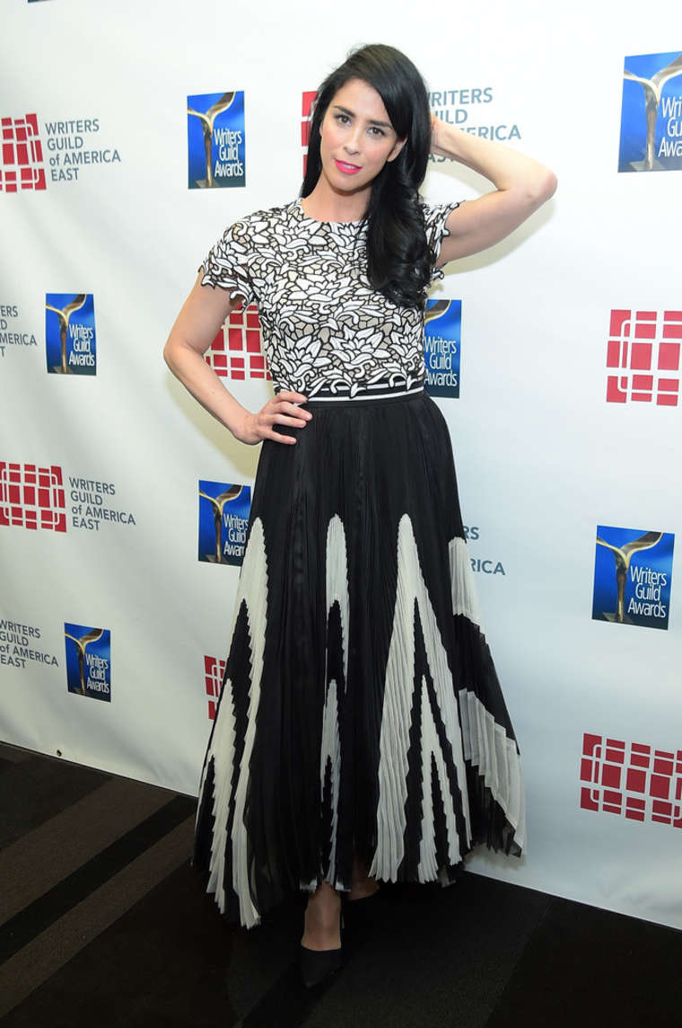 Sarah Silverman Writers Guild Awards Los Angeles in Century City