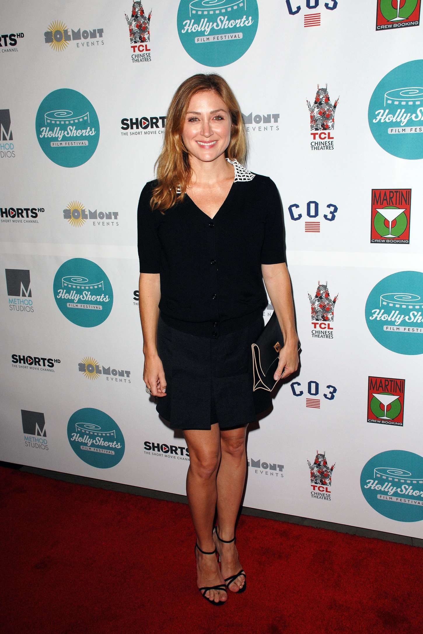 Sasha Alexander Hollyshorts Anniversary Opening Night Gala in Hollywood