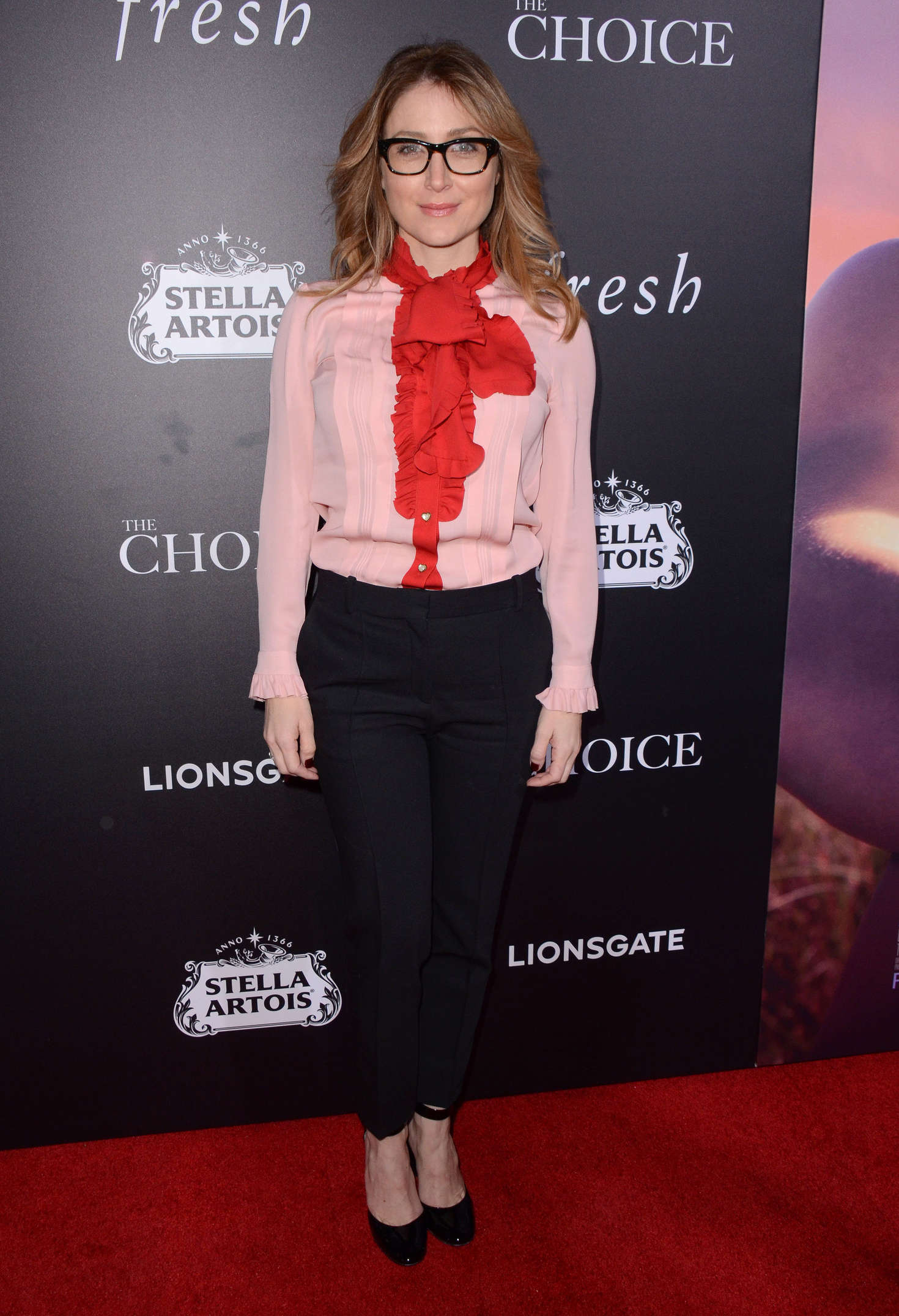 Sasha Alexander The Choice Screening in Los Angeles