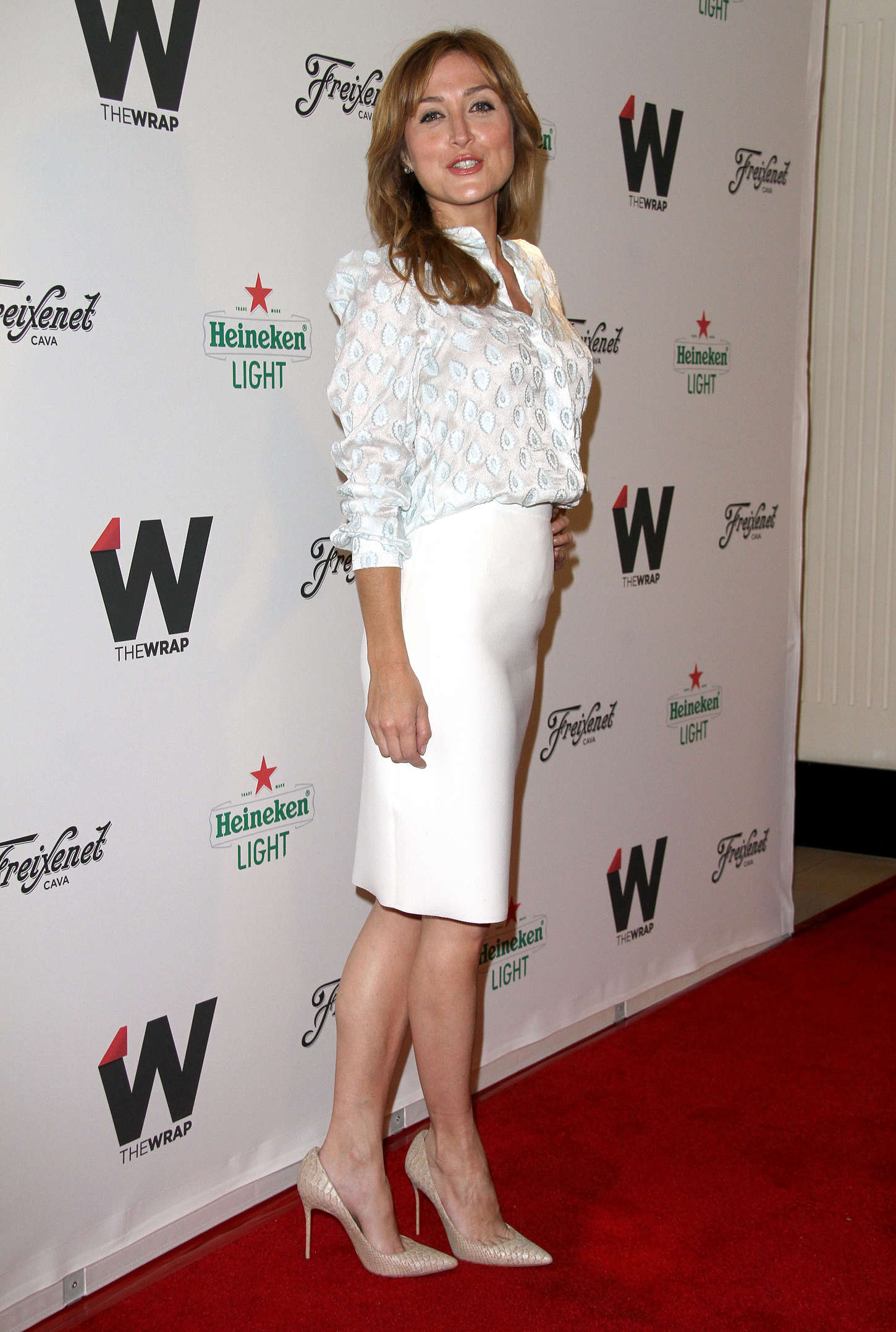 Sasha Alexander TheWraps Annual Emmy Party in West Hollywood