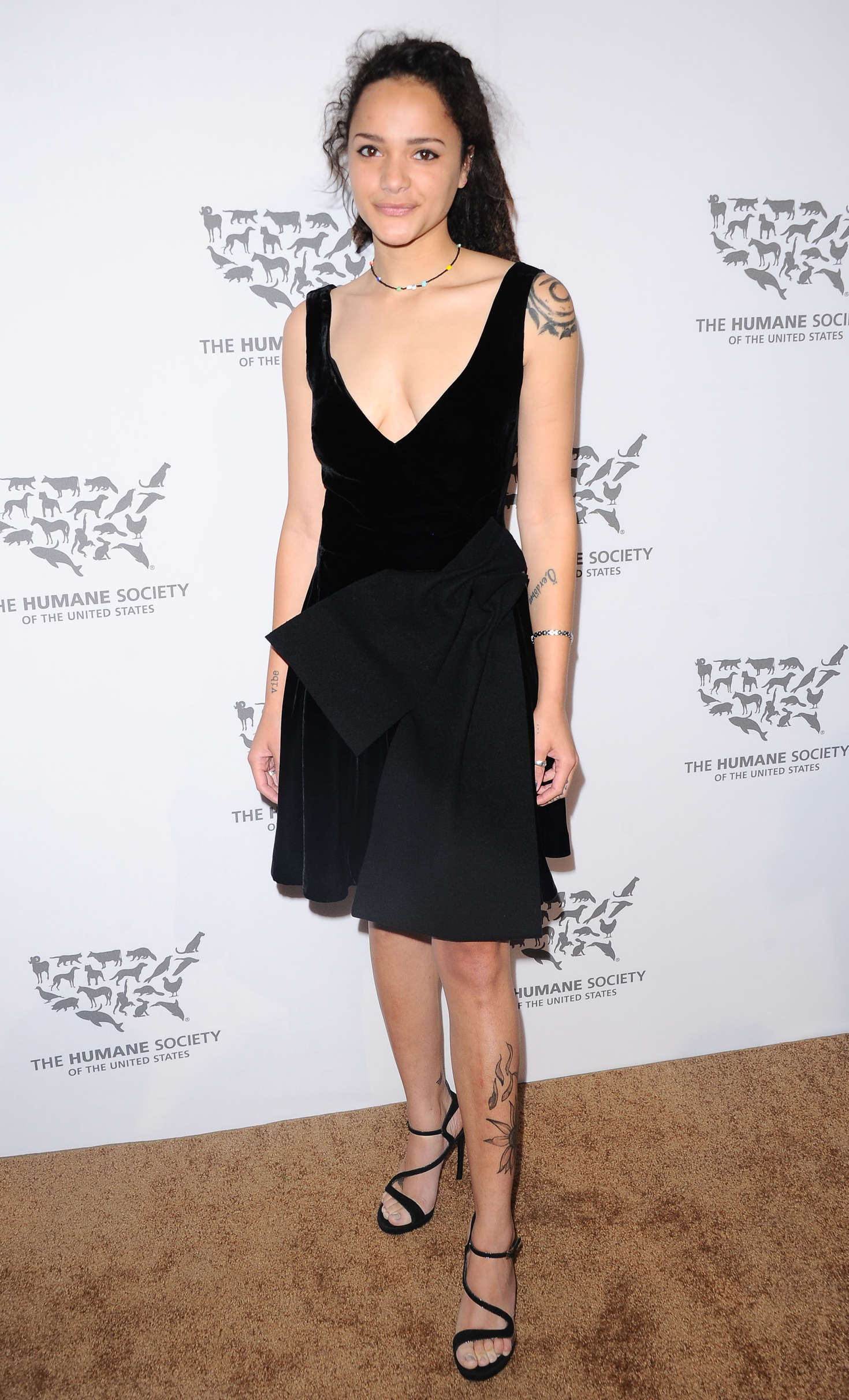 Sasha Lane The Humane Society Of The United States To The Rescue Gala in Hollywood