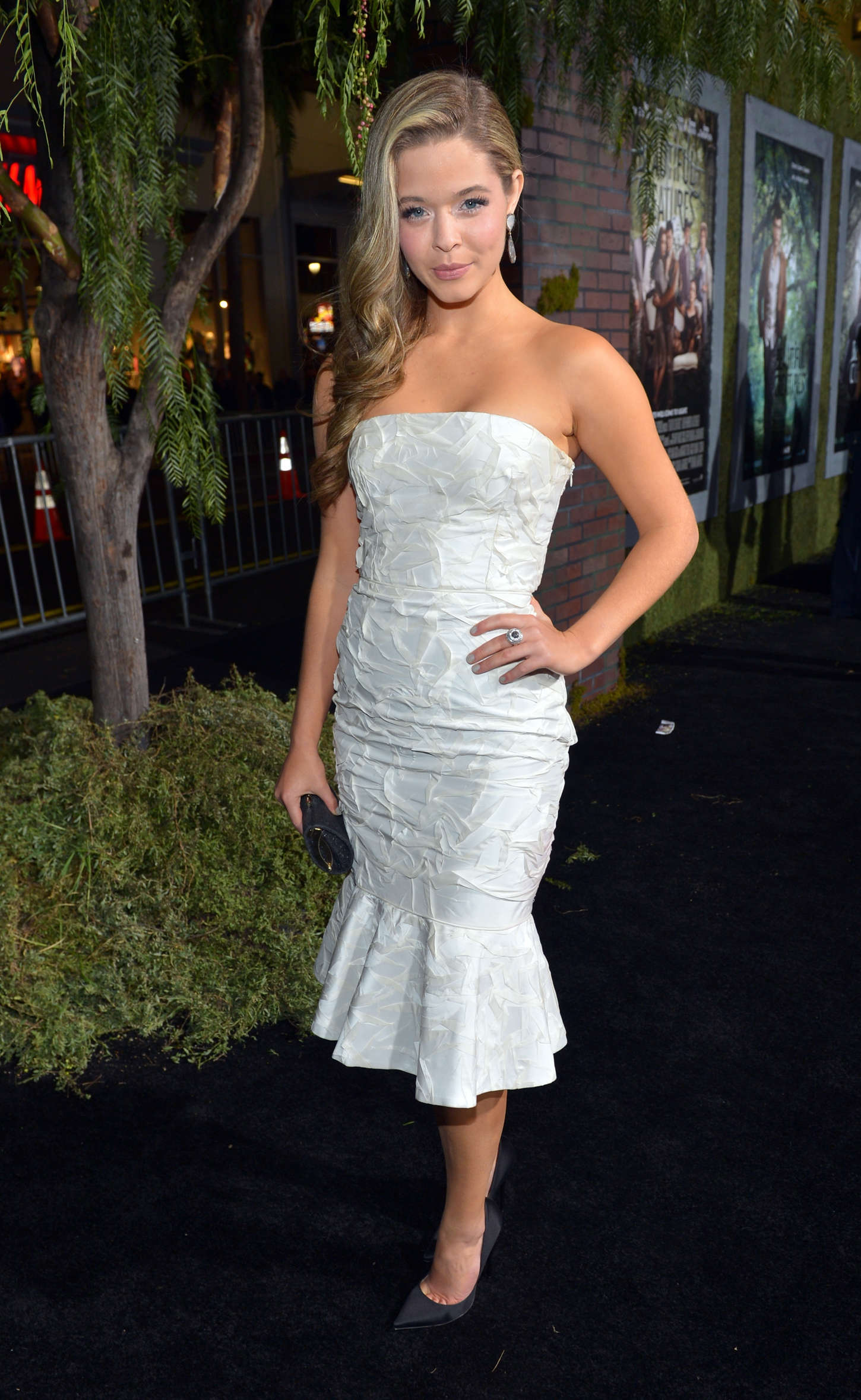 Sasha Pieterse at Beautiful Creatures Premiere in Hollywood