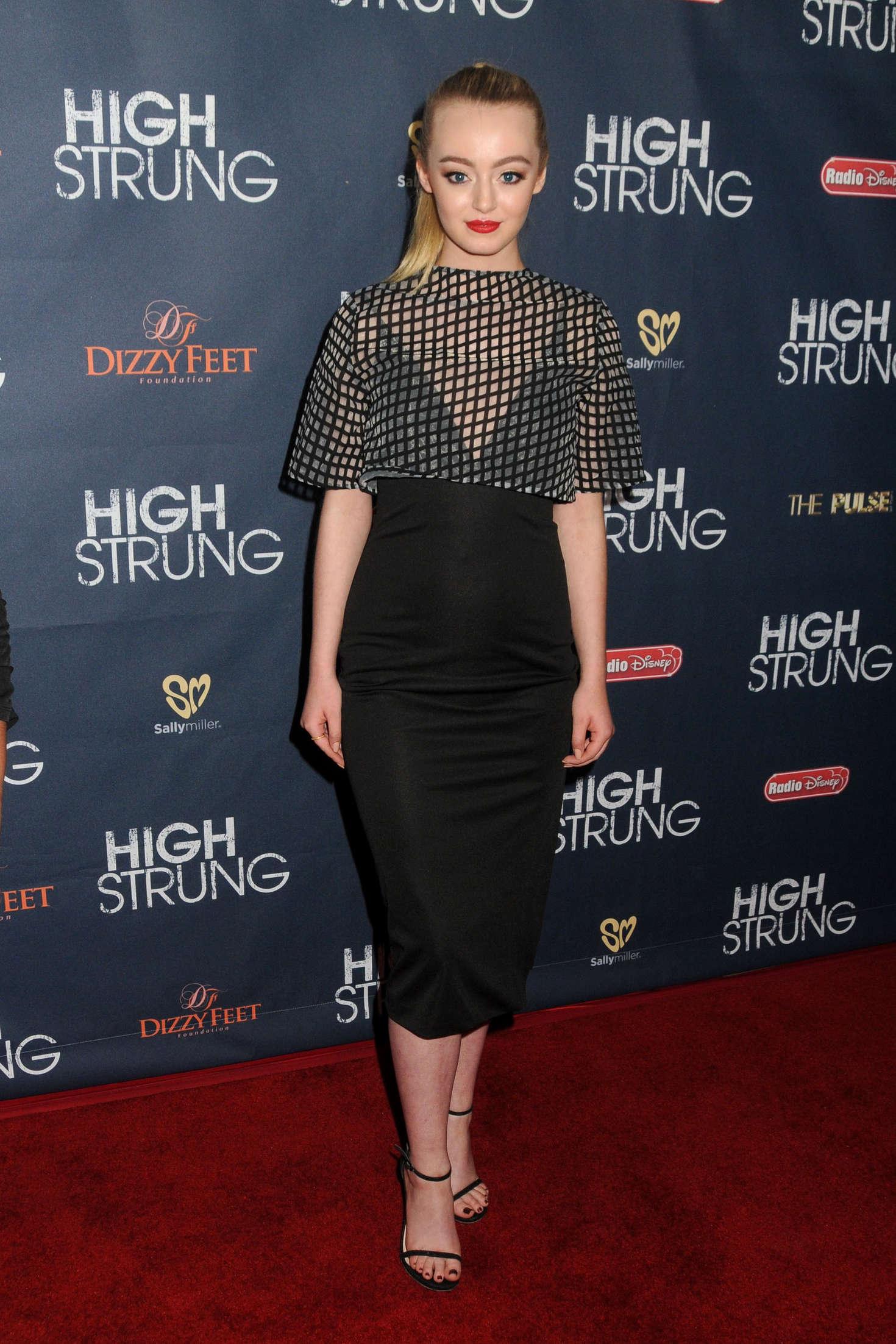 Savannah Kennick High Strung Premiere in Los Angeles