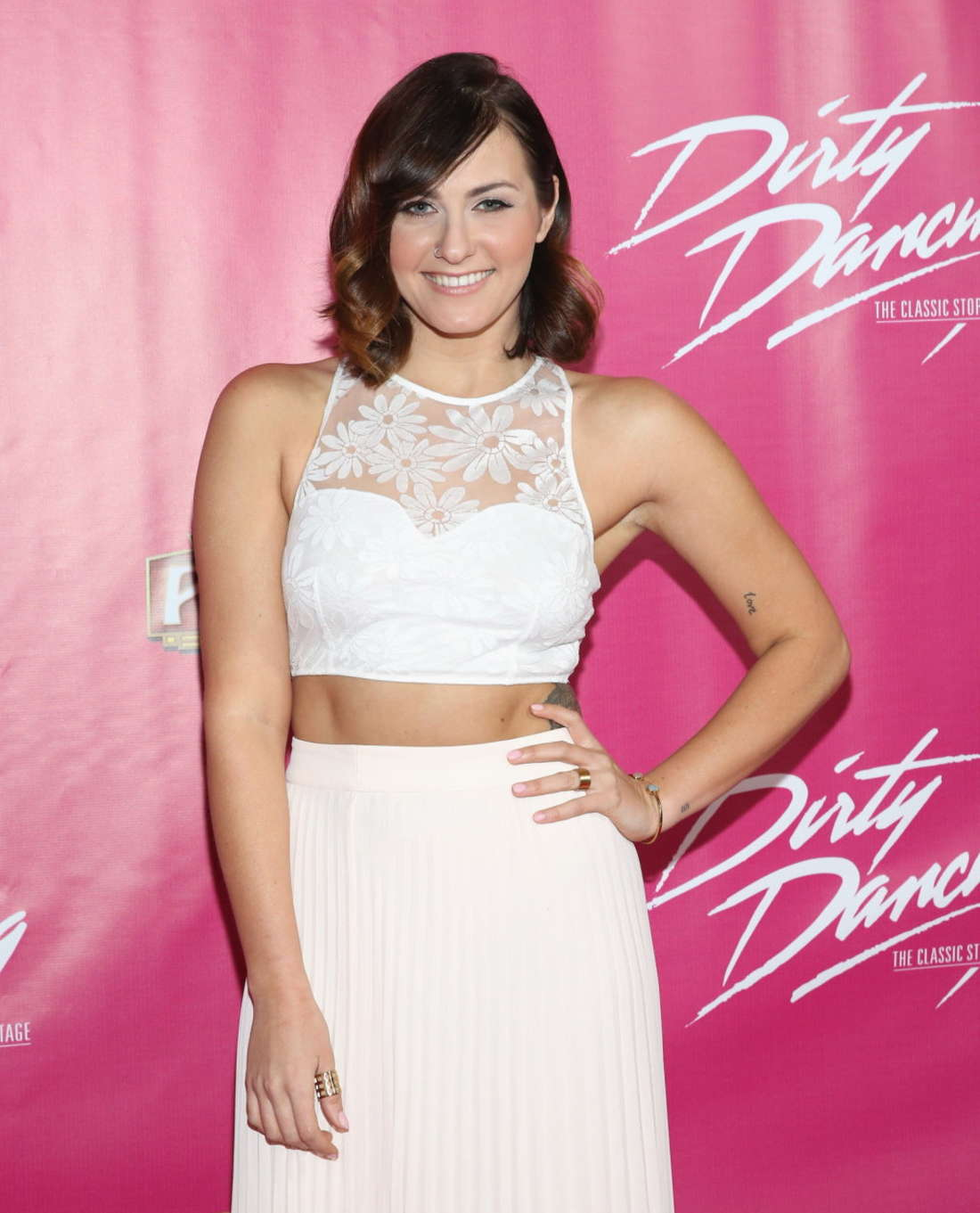 Scout Taylor Compton Dirty Dancing The Classic Story On Stage Opening Night in Hollywood