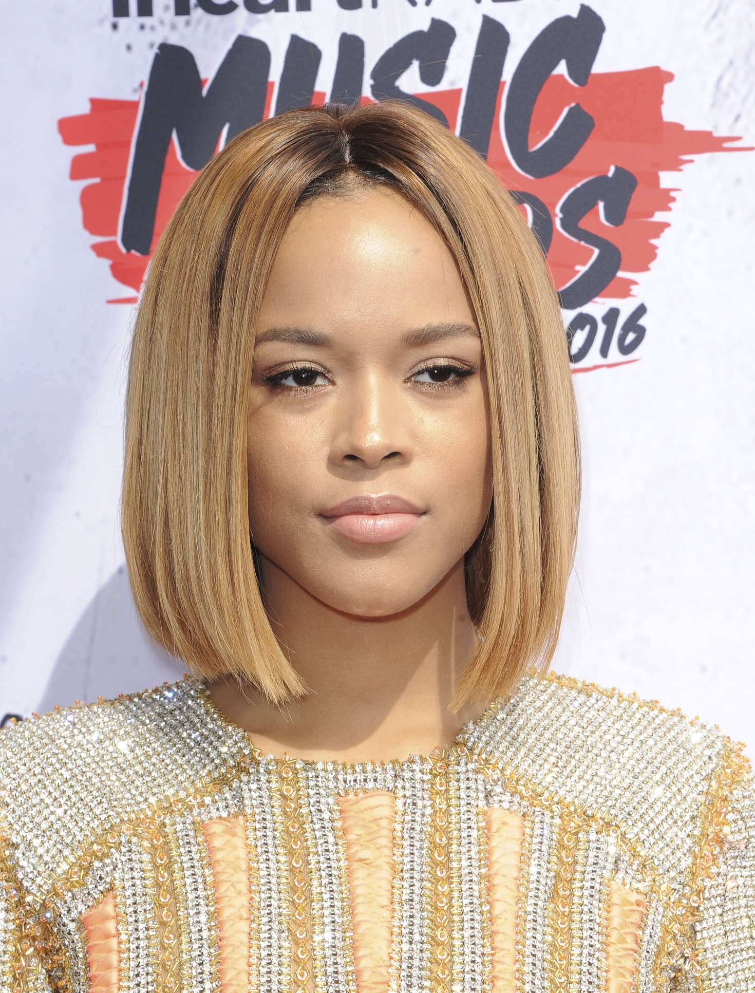 Serayah McNeill iHeartRadio Music Awards in Los Angeles