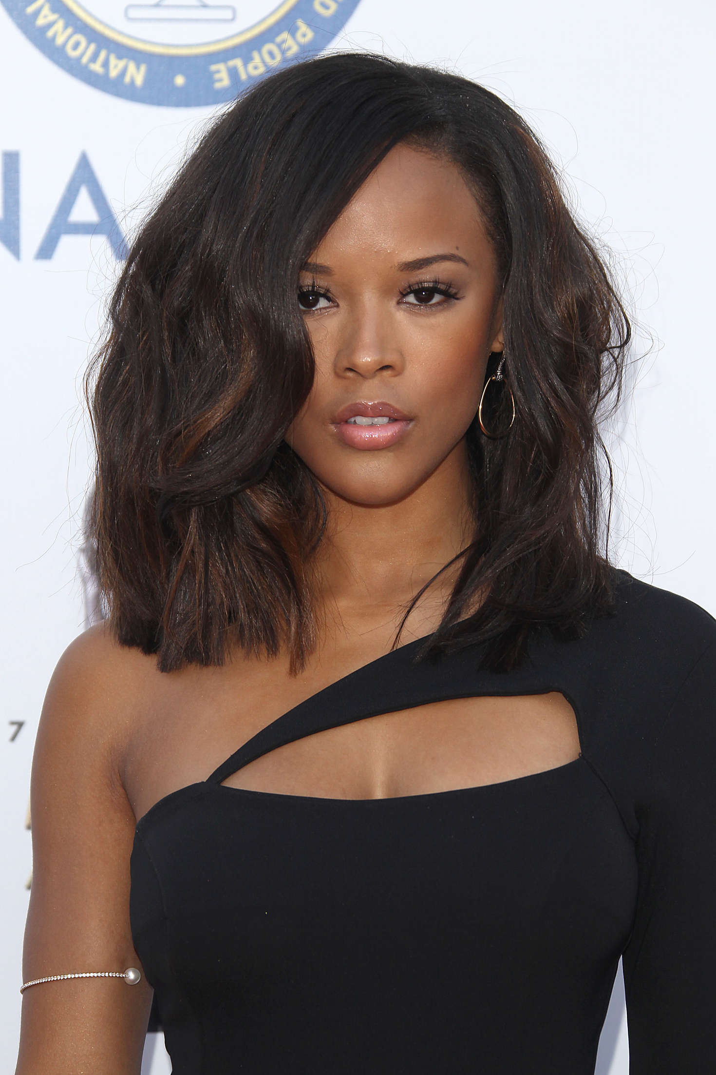 Serayah McNeill NAACP Image Awards in Pasadena
