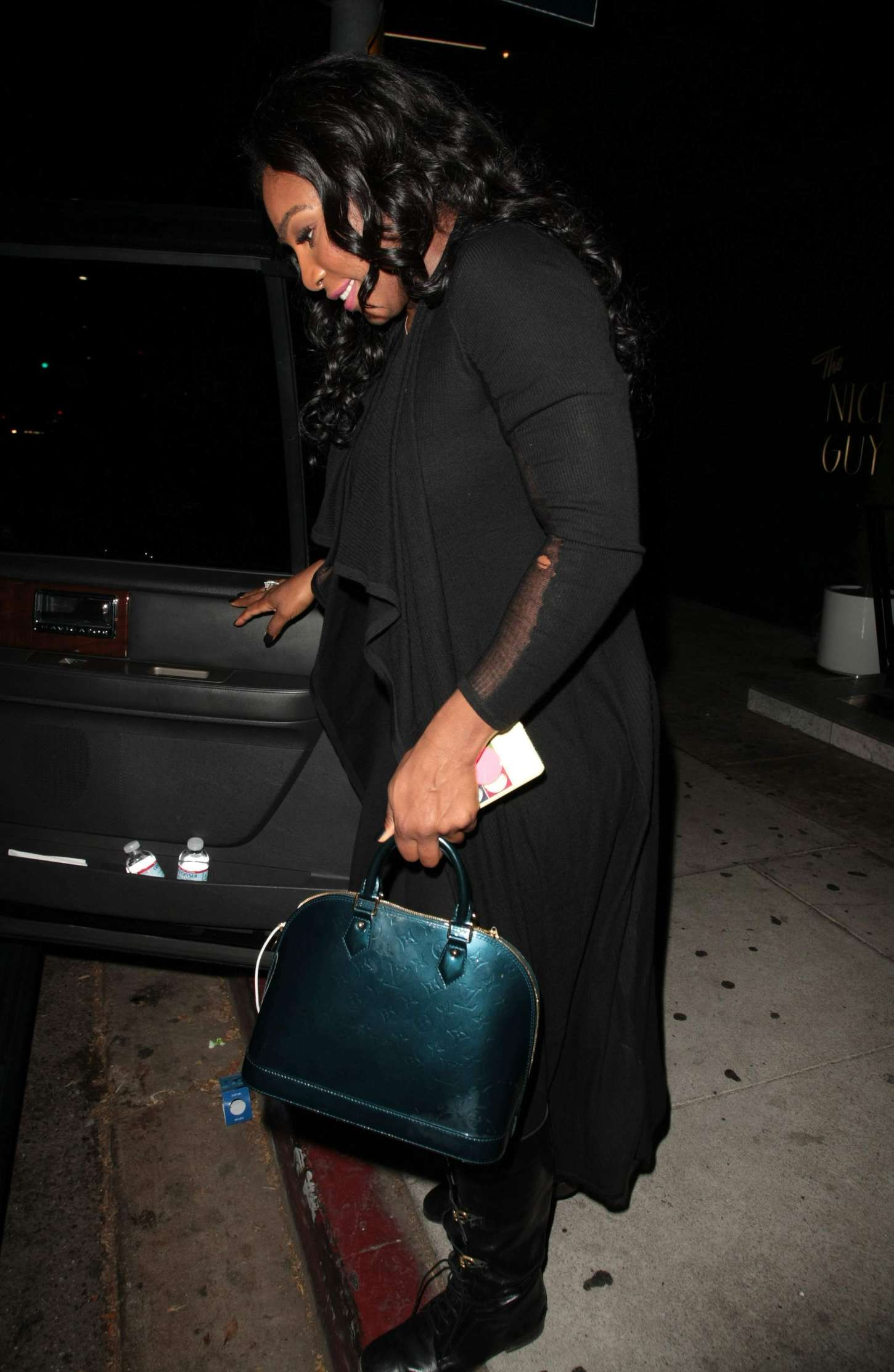 Serena Williams at The Nice Guy Nightclub in West Hollywood