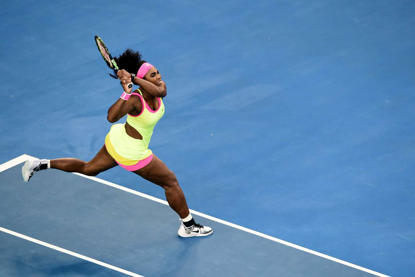 Serena Williams Australian Open in Melbourne Day