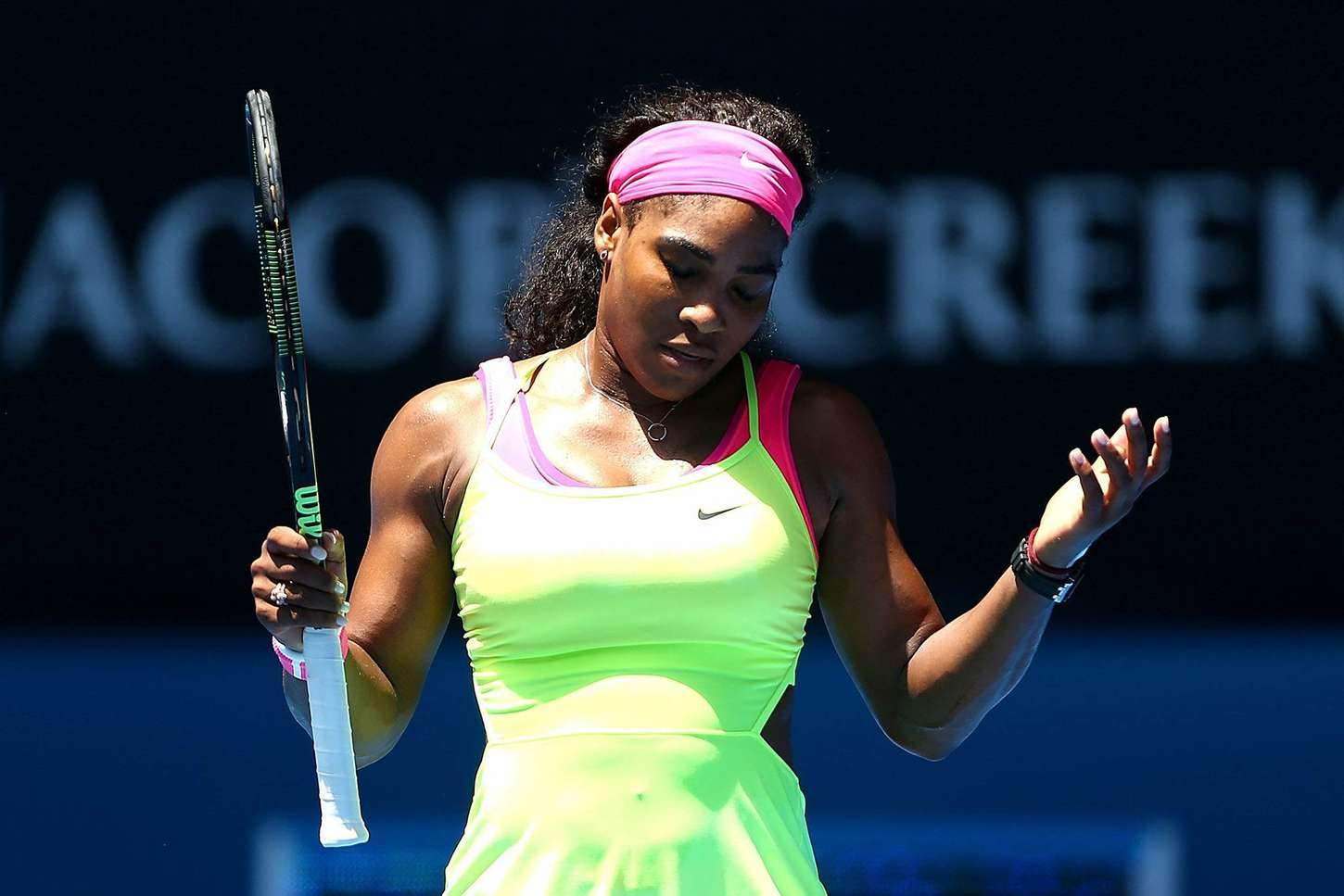 Serena Williams Australian Open round