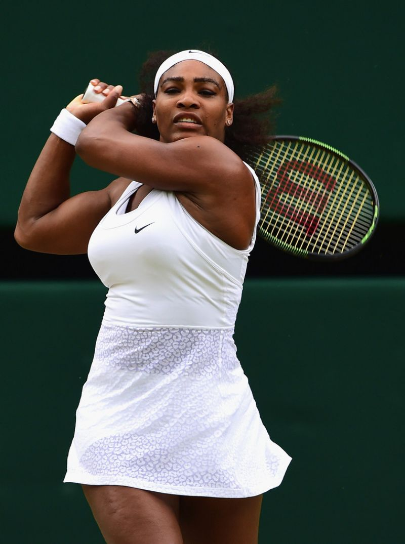 Serena Williams – Wimbledon Lawn Tennis Championships in London – Quarterfinal