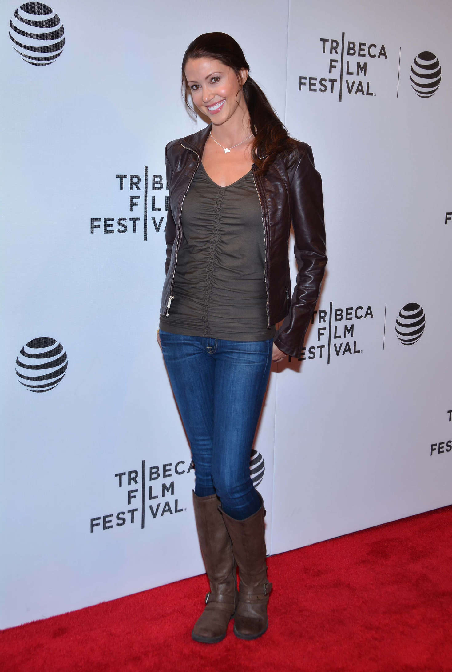 Shannon Elizabeth Tribeca Talks After The Movie Special Correspondents at TFF in New York