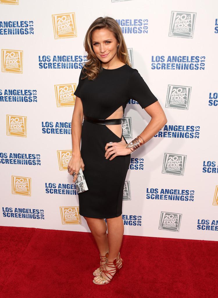 Shantel VanSanten Los Angeles Screenings Lot Party Century FOX Television