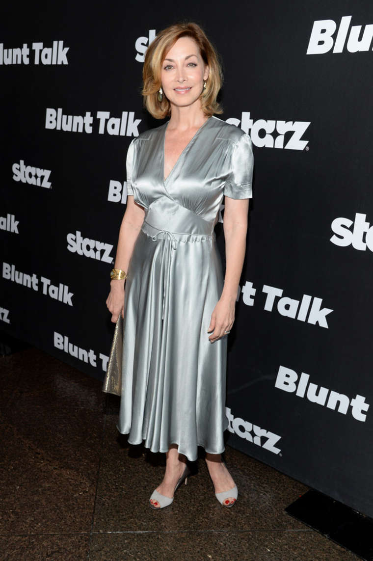 Sharon Lawrence STARZ Blunt Talk Series Premiere in Los Angeles