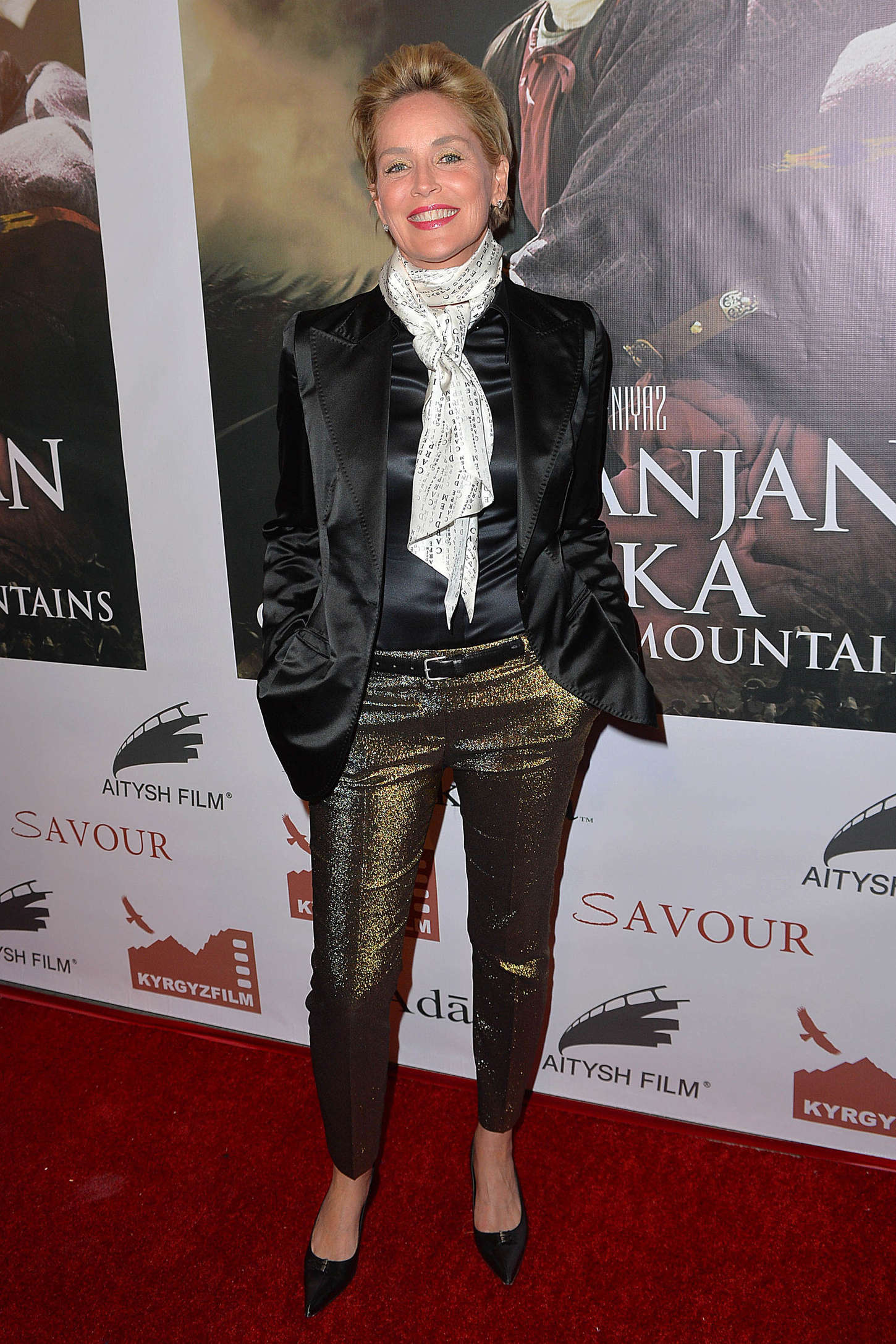 Sharon Stone at Screening of Kurmanjan Datka Queen of the Mountains in Hollywood