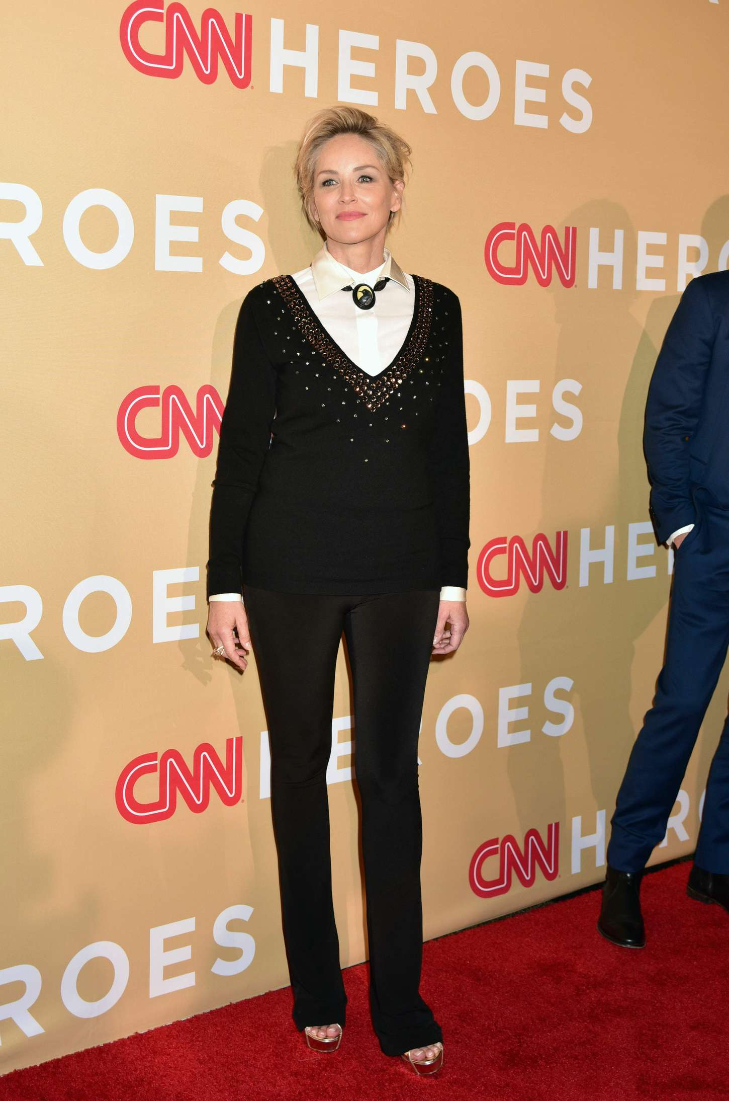 Sharon Stone CNN Heroes in New York