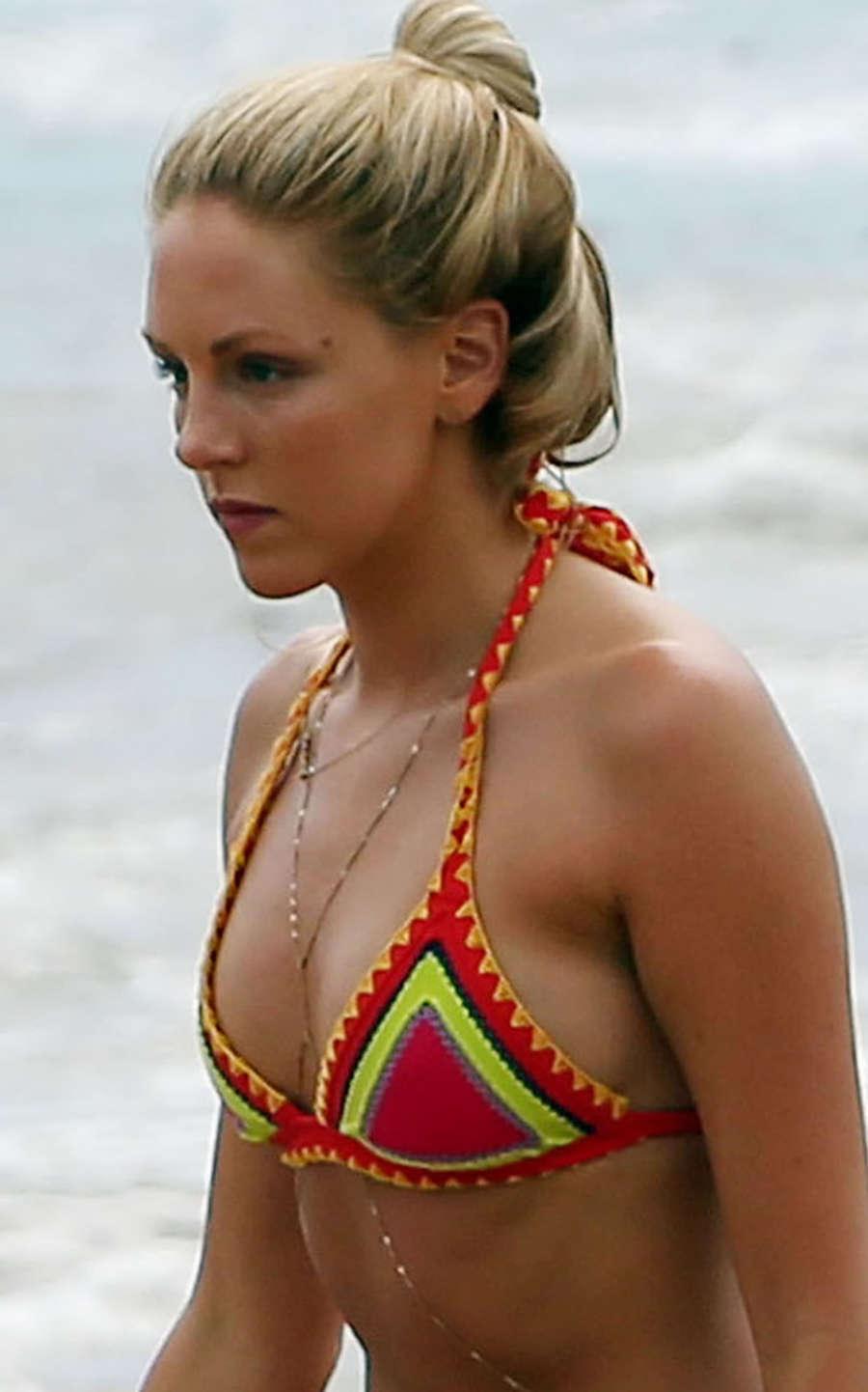 Shea Marie Wearing Bikini in Maui