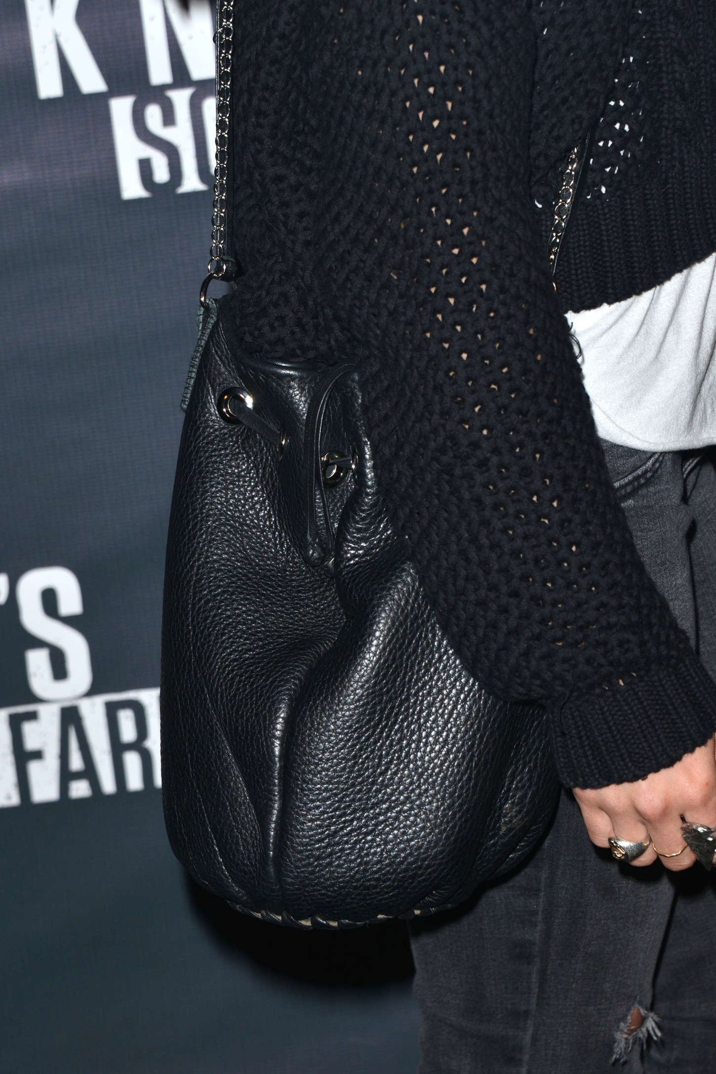 Shenae Grimes Knotts Scary Farm Opening Night in Buena Park