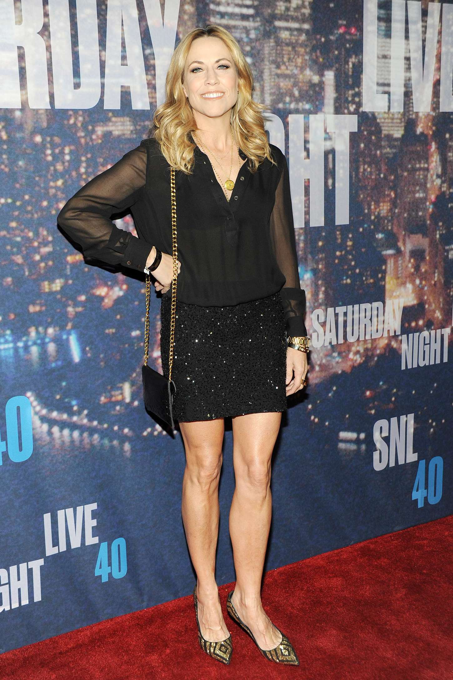 Sheryl Crow SNL Anniversary Special in New York