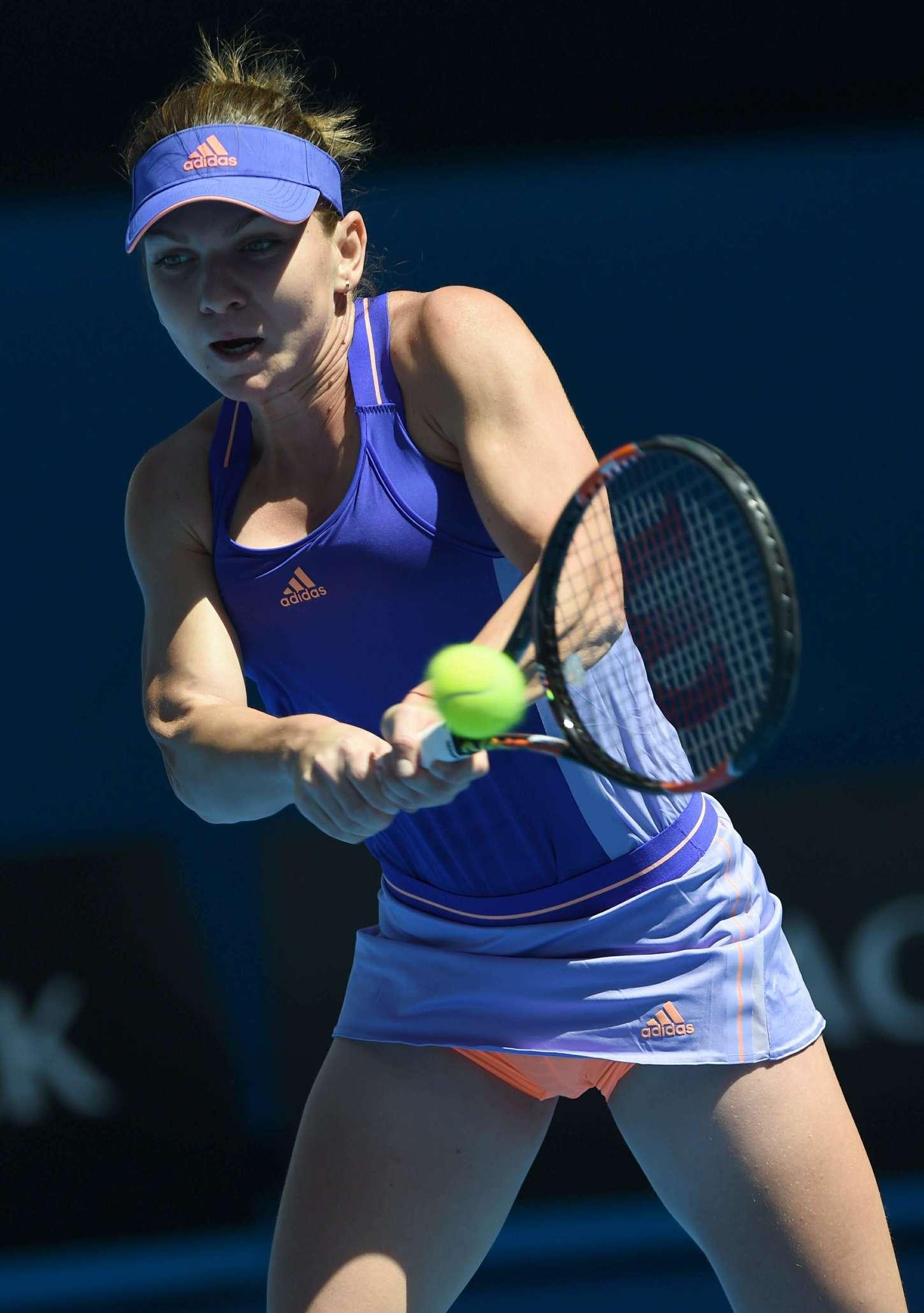 Simona Halep Australian Open in Melbourne