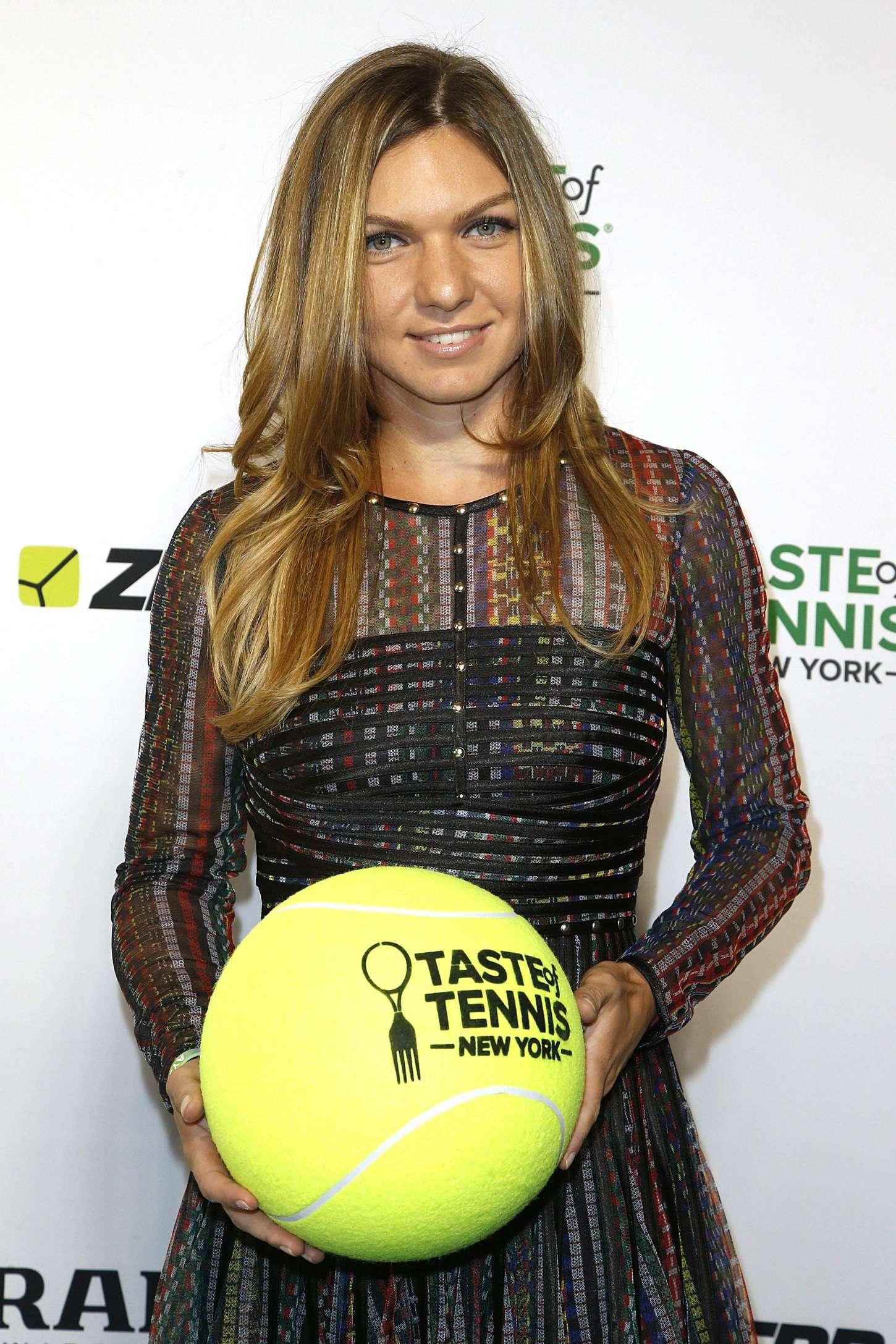 Simona Halep Taste of Tennis Gala in New York