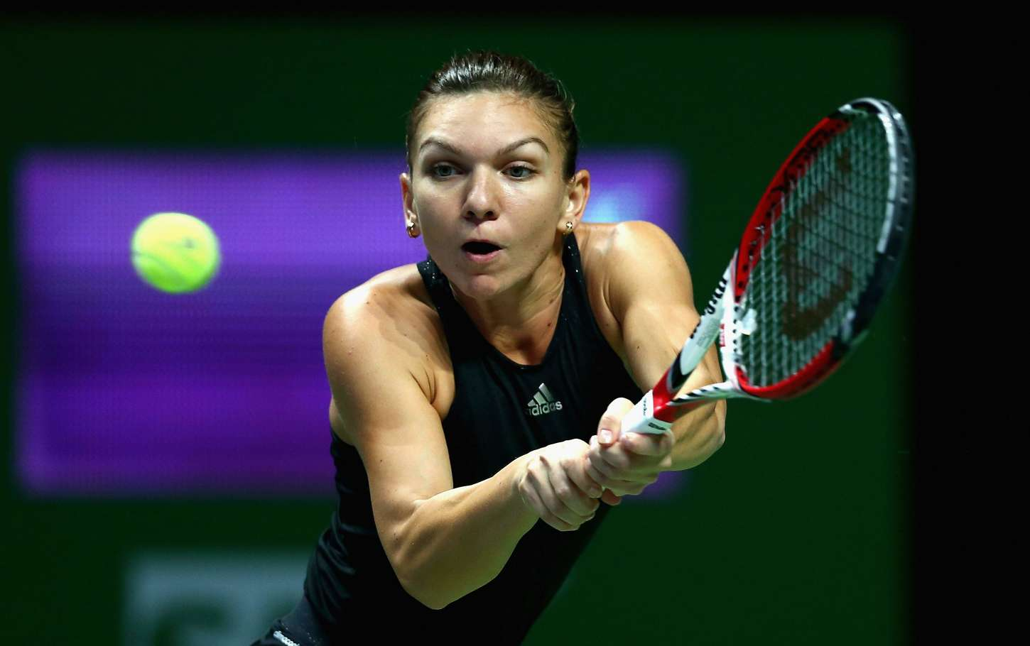 Simona Halep WTA Finals in Singapore