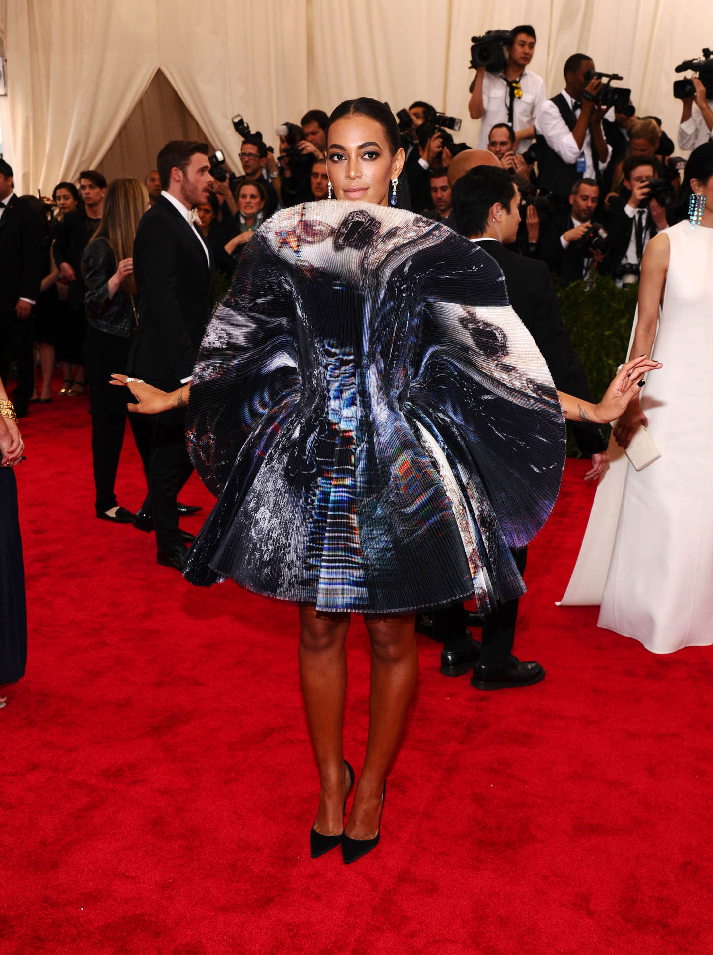 Solange Knowles China Through The Looking Glass Costume Institute Benefit Gala in New York