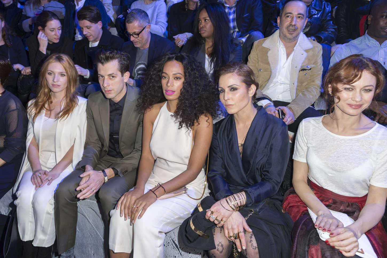 Solange Knowles HM Fashion Show in Paris