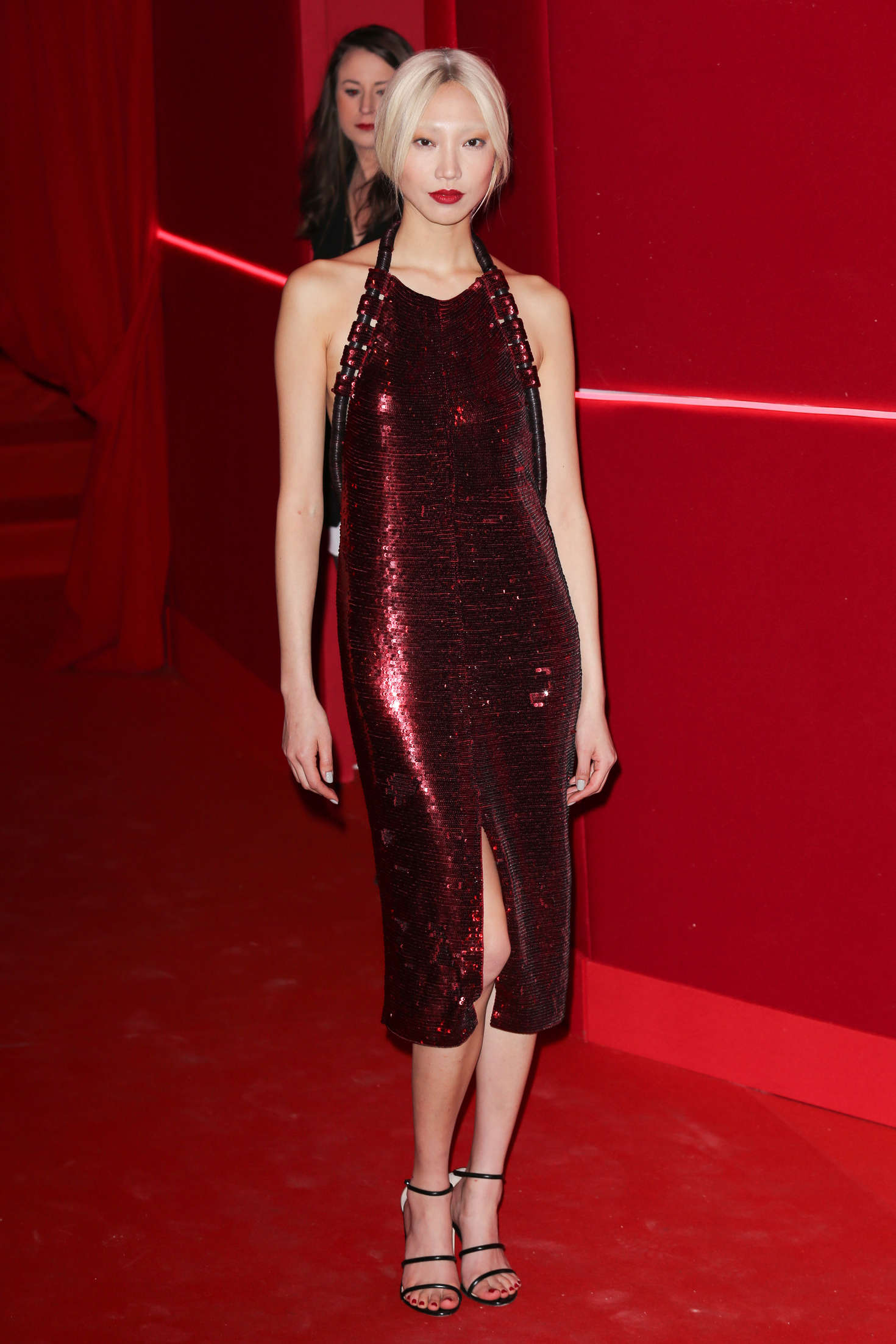 Soo Joo Park Attends at LOreal Red Obsession Party in Paris-1