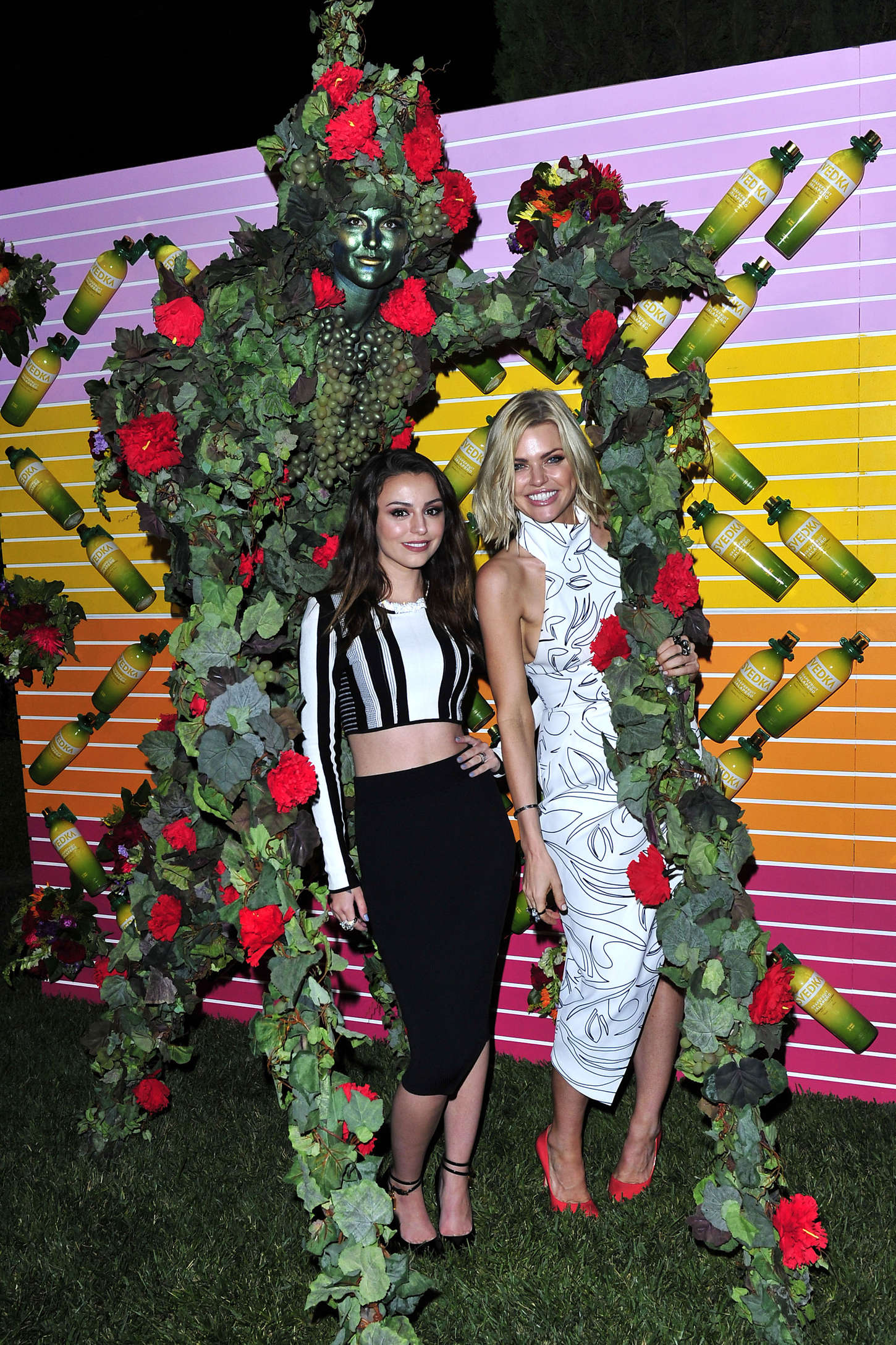 Sophie Monk Launch Of Grapefruit Jalapeno at SVEDKAS Summer Fiesta in Beverly Hills