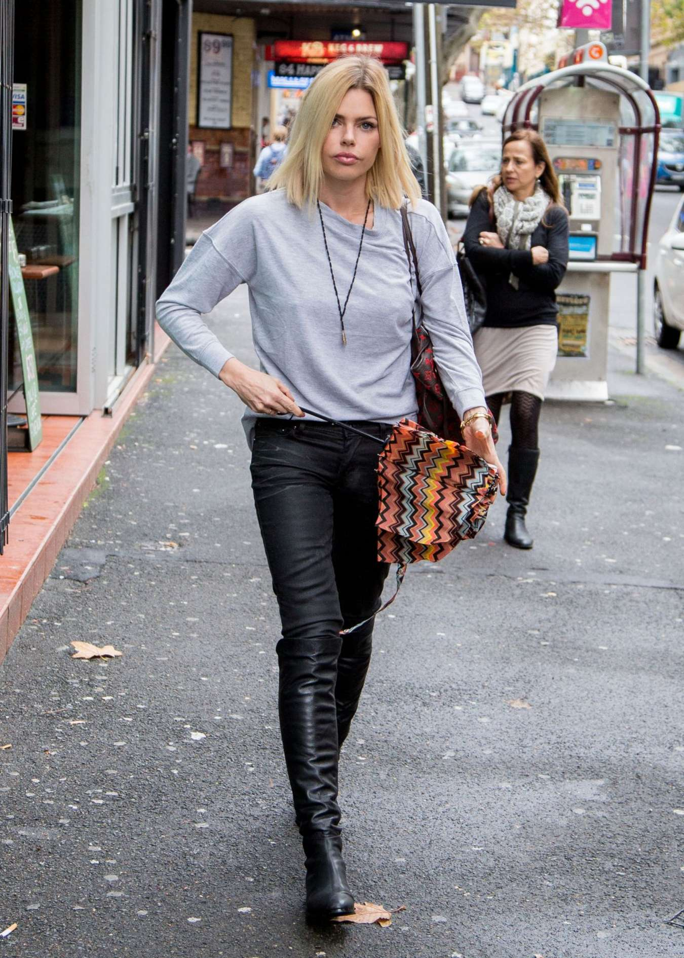 Sophie Monk out in Sydney