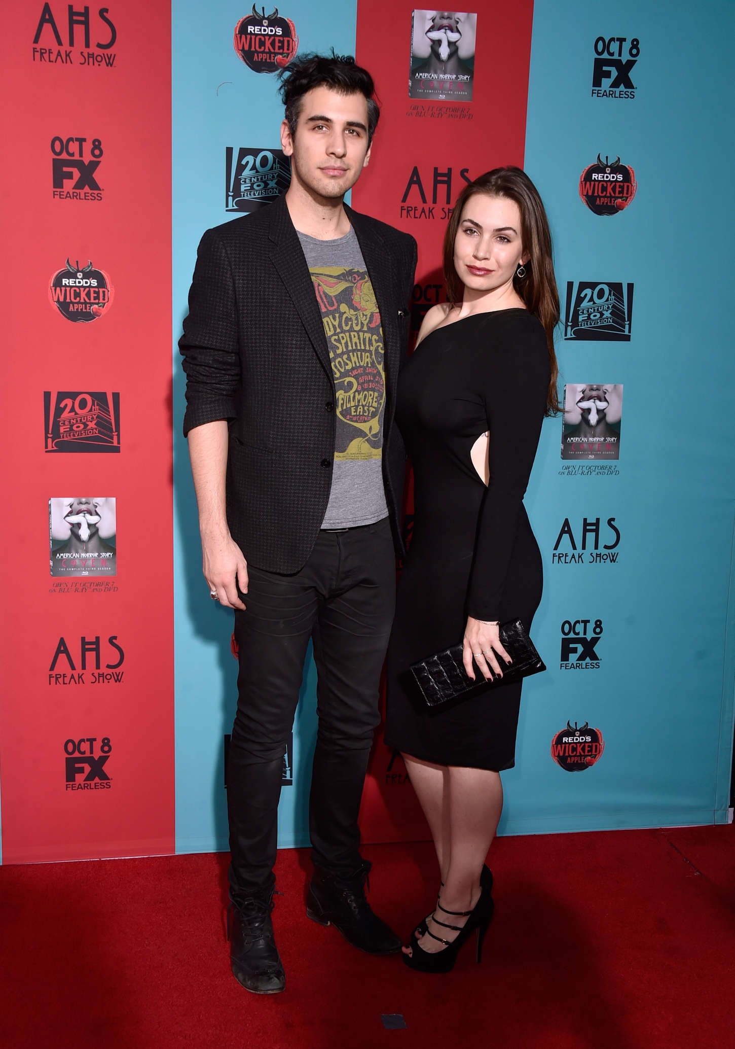 Sophie Simmons American Horror Story Freak Show Premiere in Hollywood