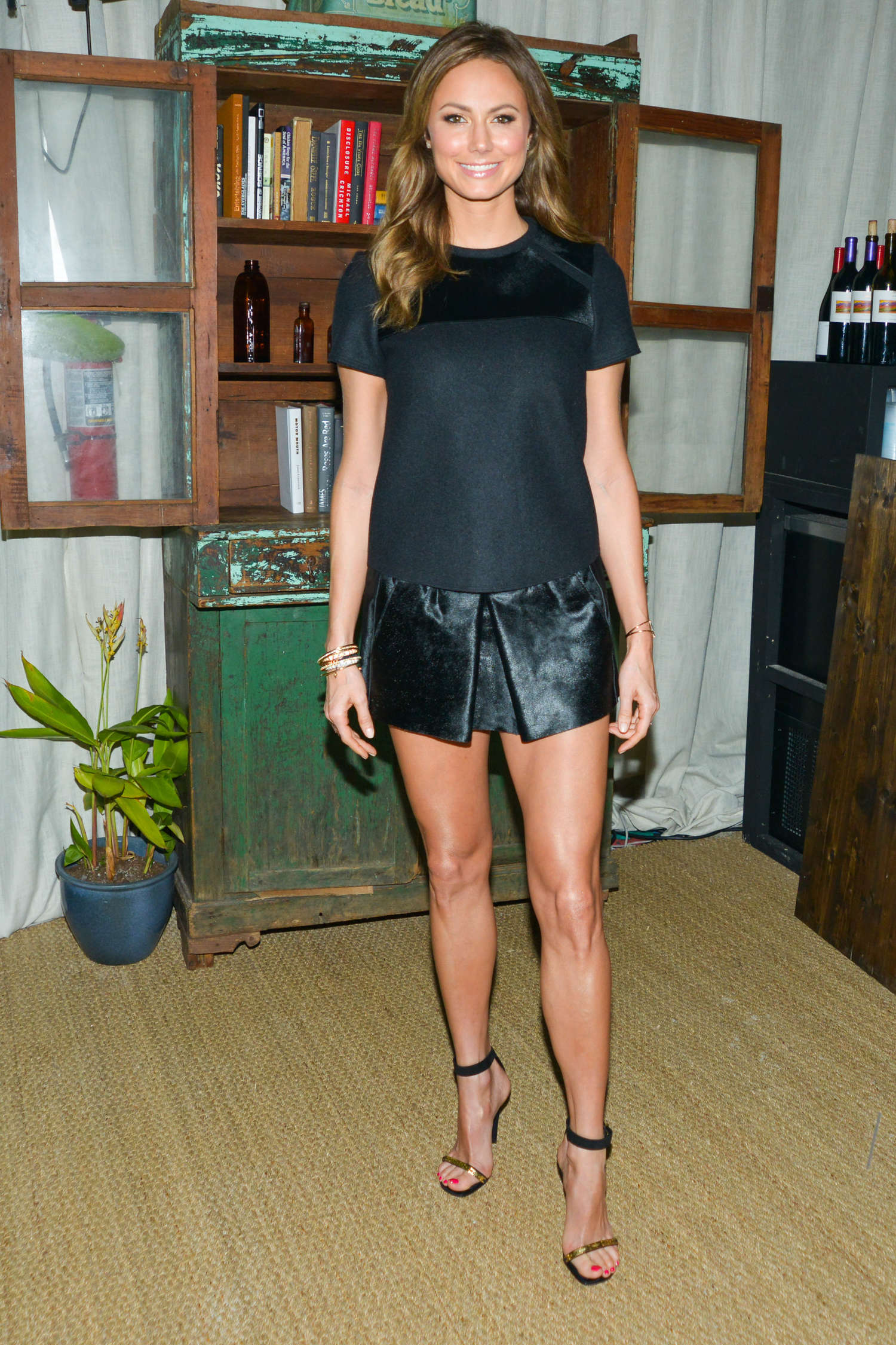Stacy Keibler ARTSY Celebrates the John Baledessari Art Studios in Miami Beach