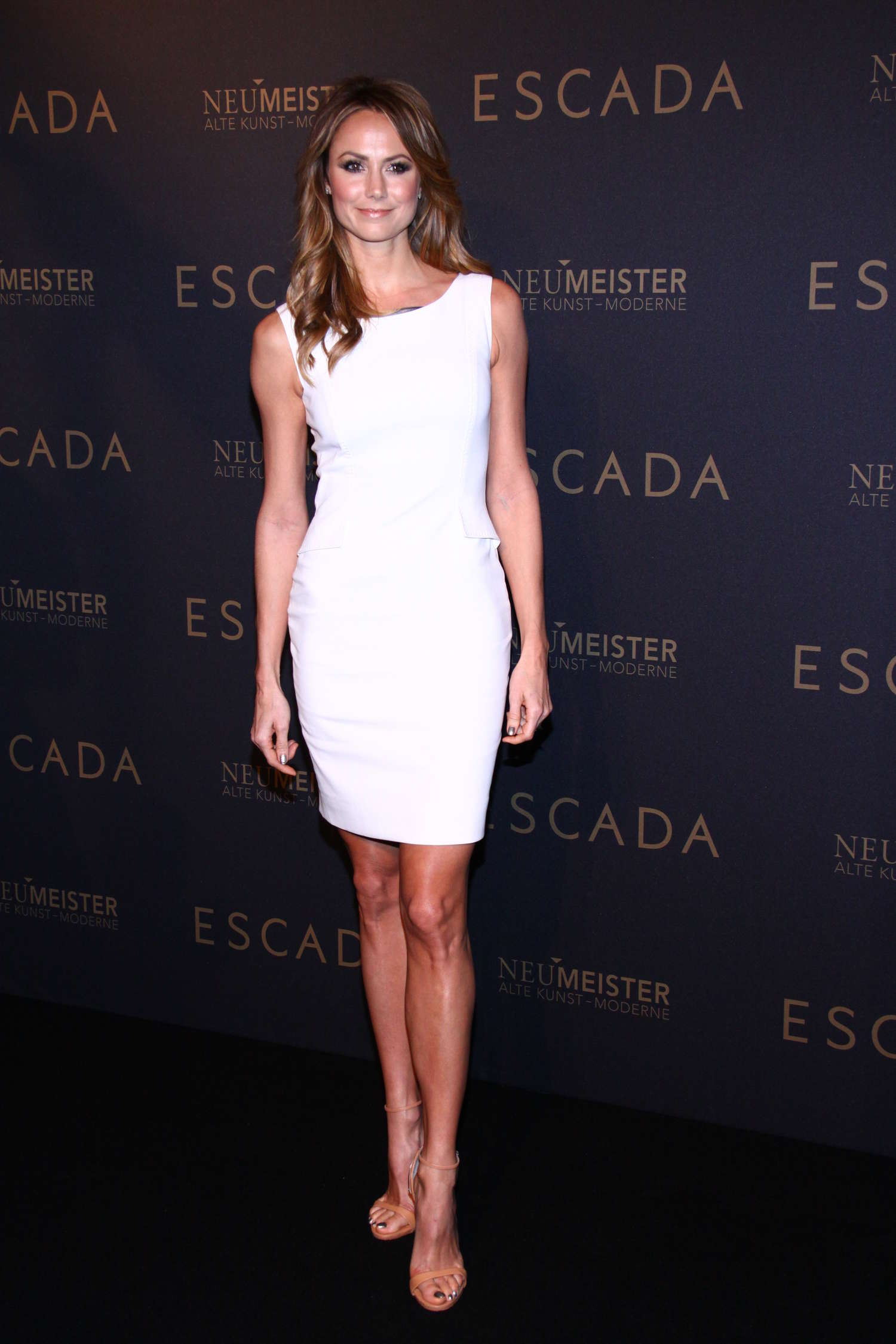 Stacy Keibler grand opening of the Escada Flagship store in Berlin