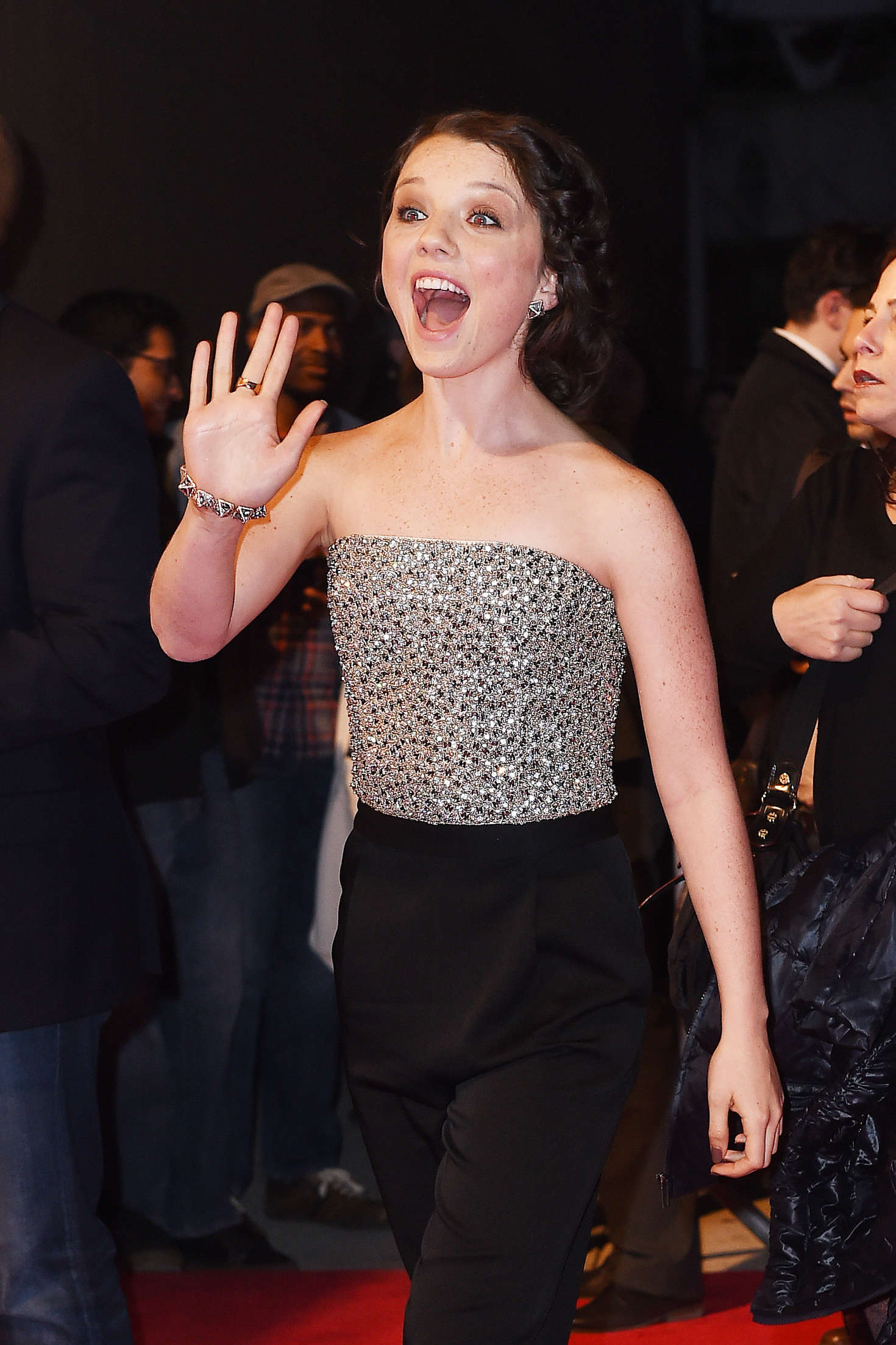 Stefania Owen All We Had Premiere at Tribeca Film Festival in New York