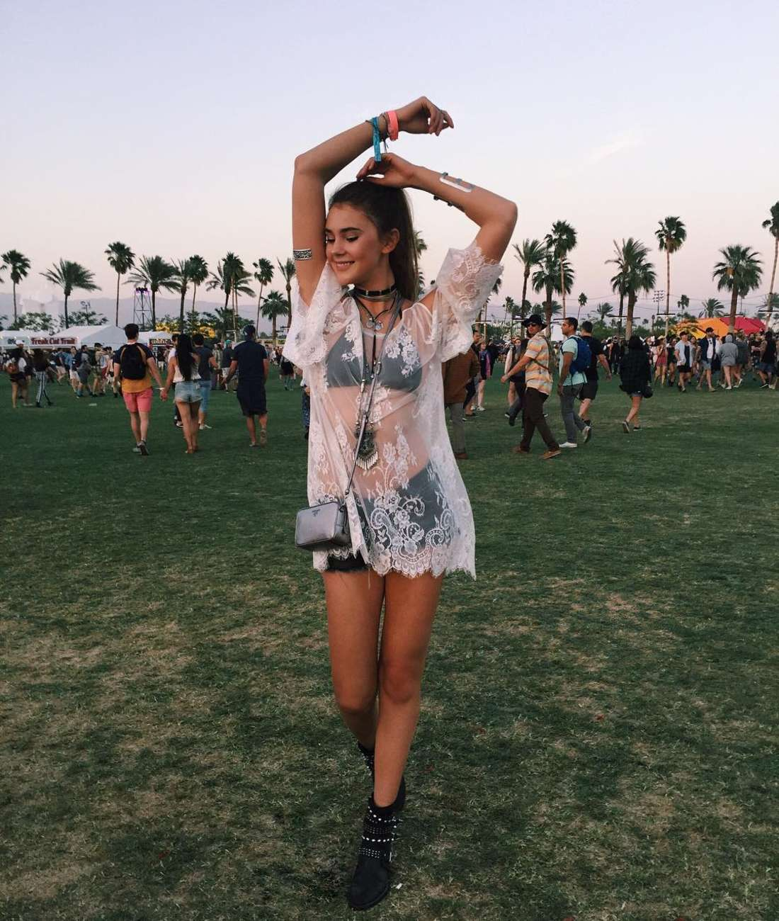 Stefanie Giesinger Coachella Valley Music and Arts Festival in Indio