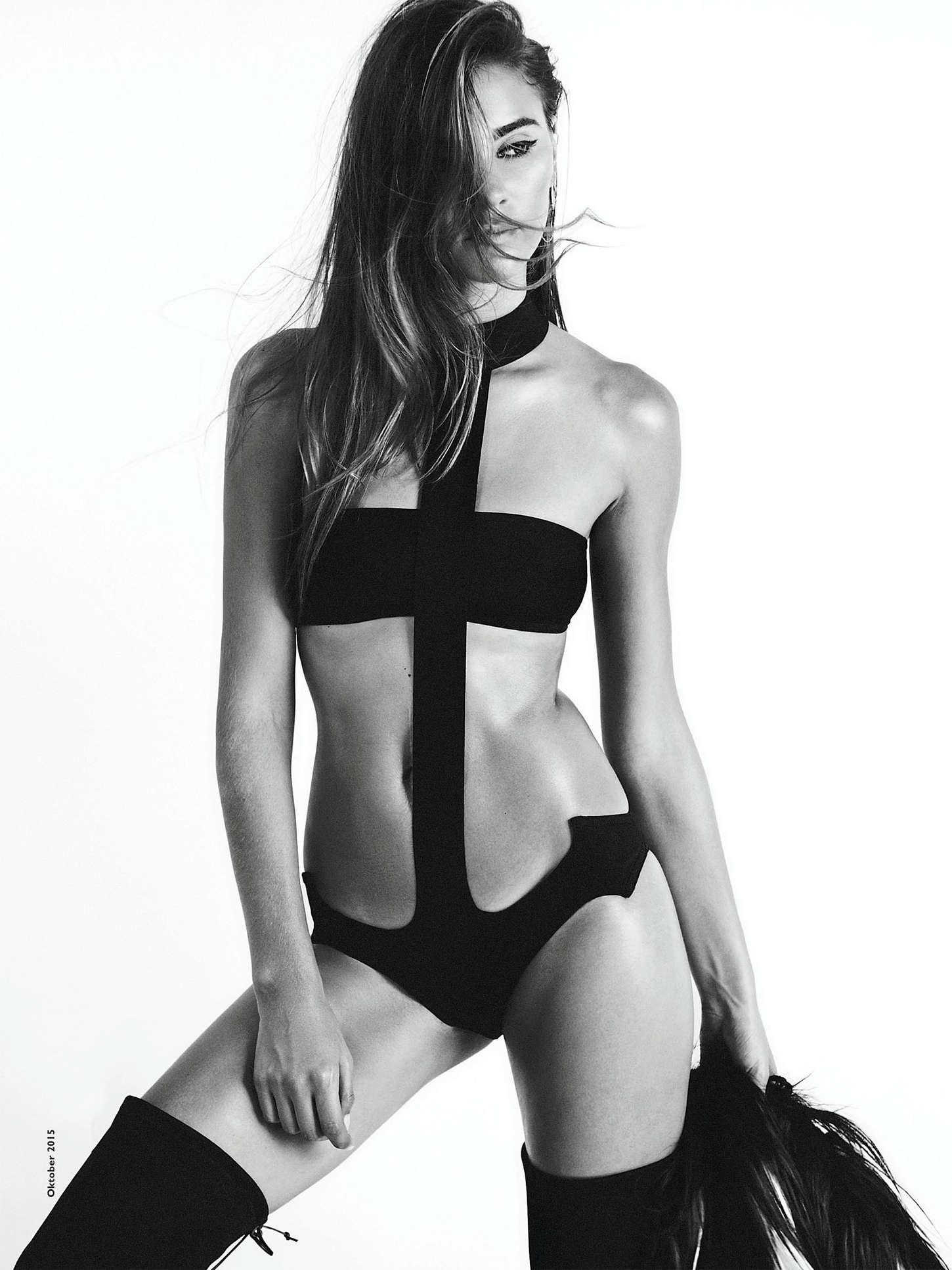 Stefanie Giesinger Cosmopolitan Germany Magazine