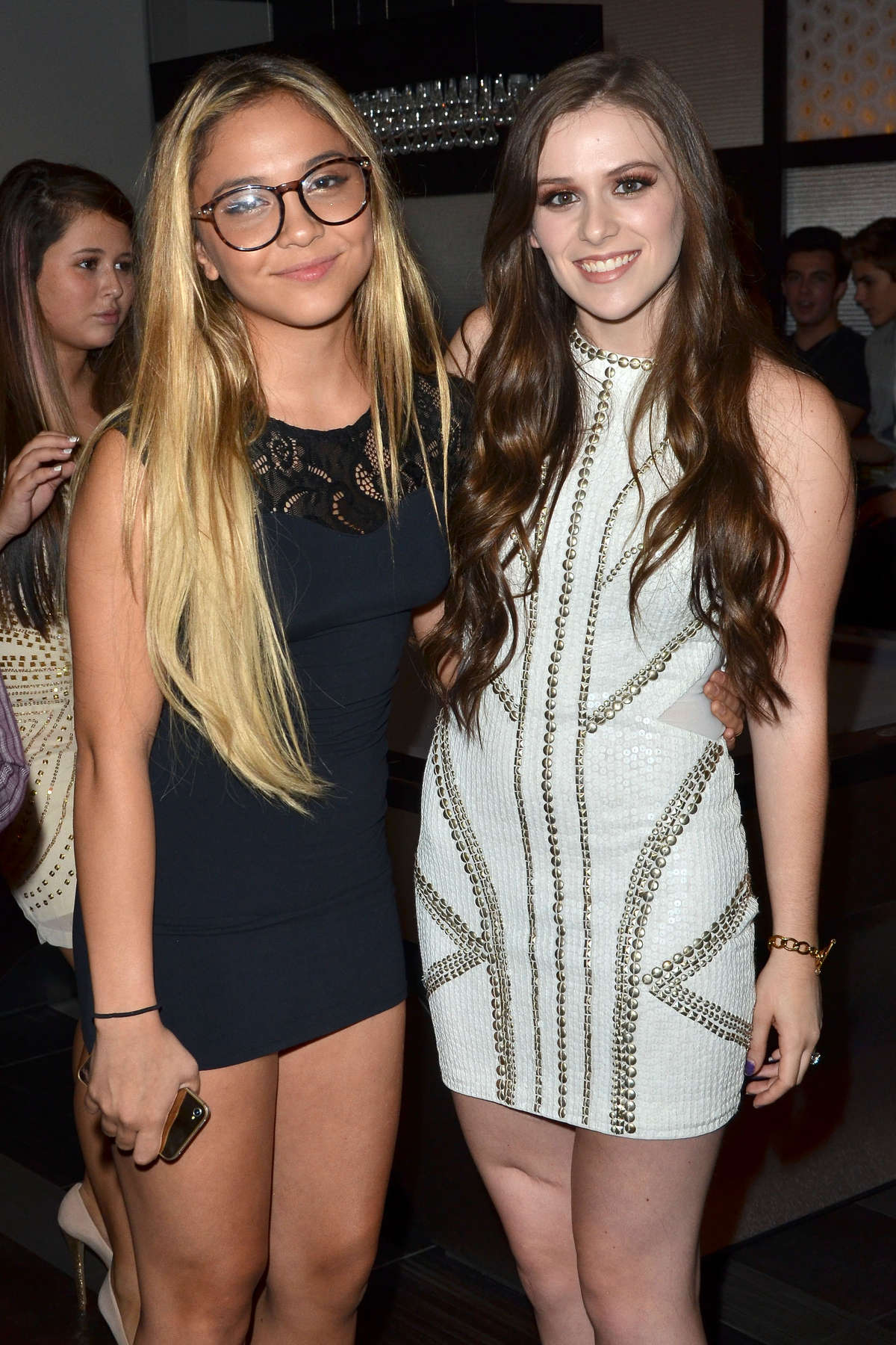Stella Hudgens at Caitlin Beadles Birthday and Launch of Caitlins Vine of Bravery Charity