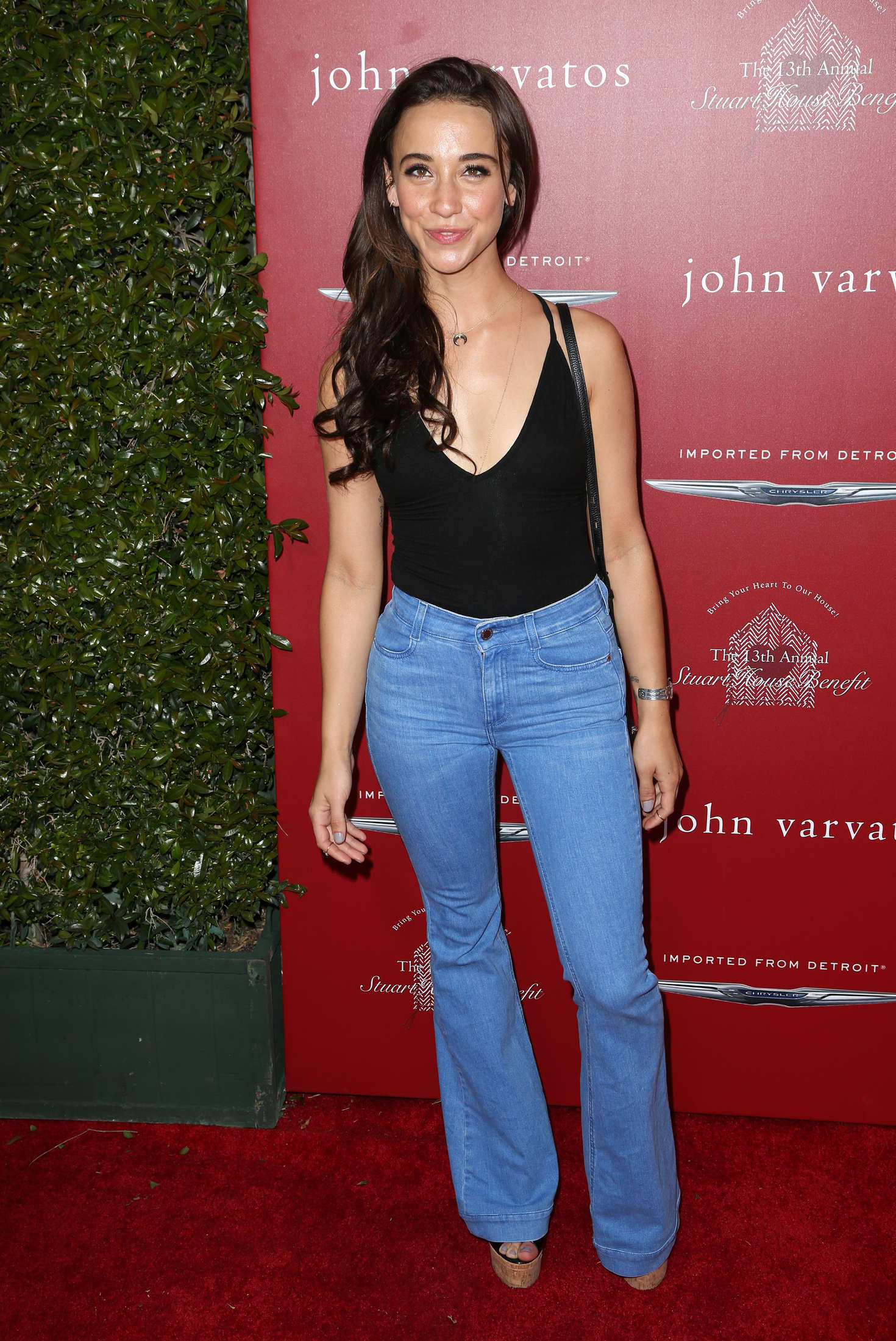 Stella Maeve John Varvatos Annual Stuart House Benefit in Los Angeles