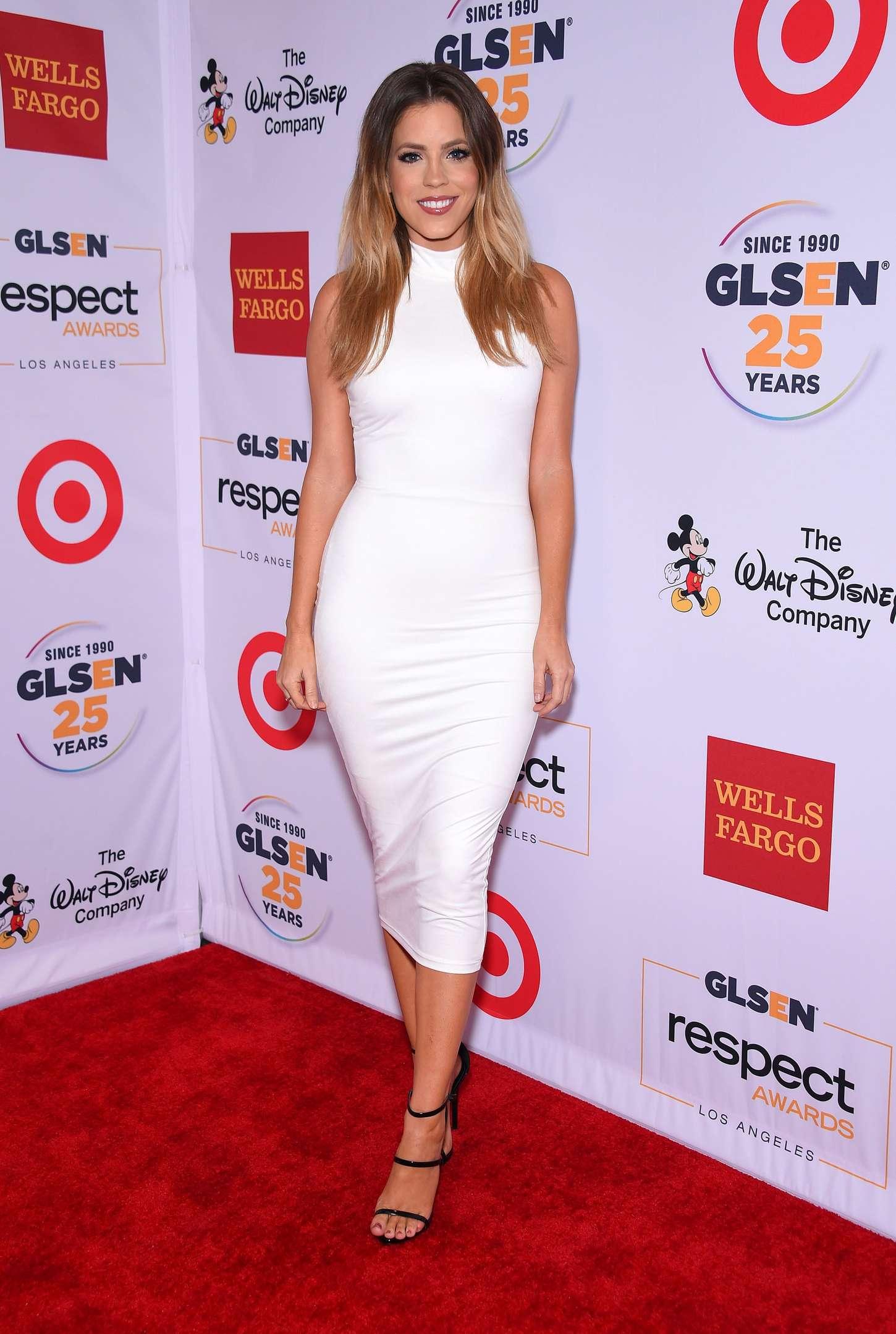Stephanie Bauer GLSEN Respect Awards in Beverly Hills