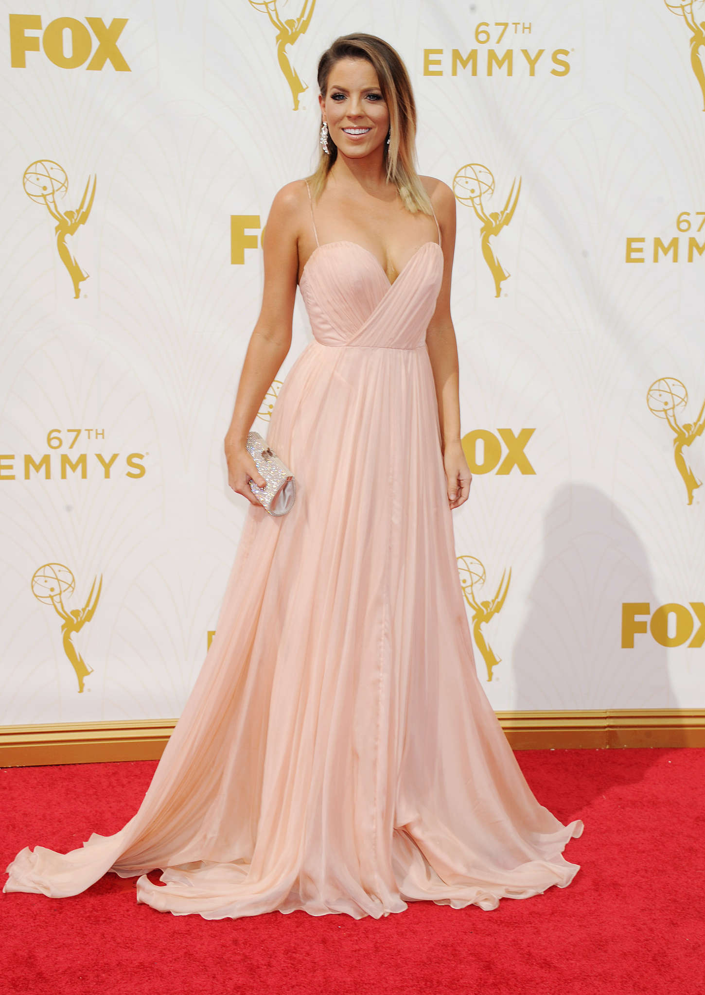 Stephanie Bauer The Primetime Emmy Awards in Los Angeles