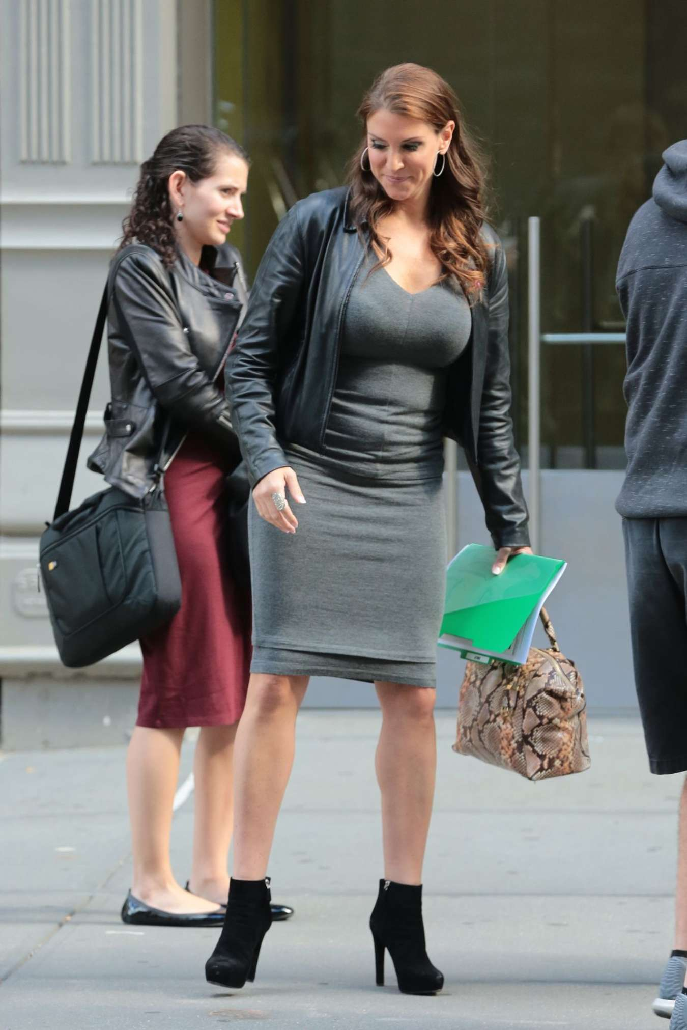 Stephanie McMahon Out in New York City