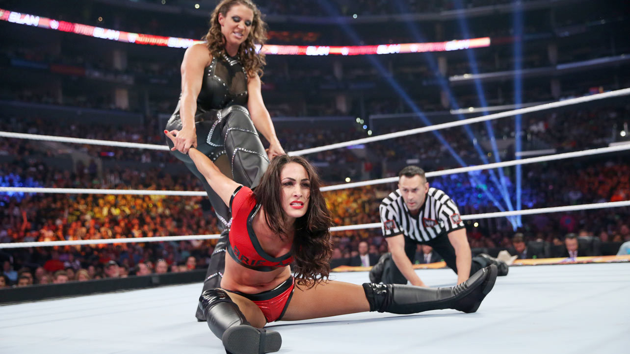 Stephanie McMahon WWE SummerSlam in Los Angeles