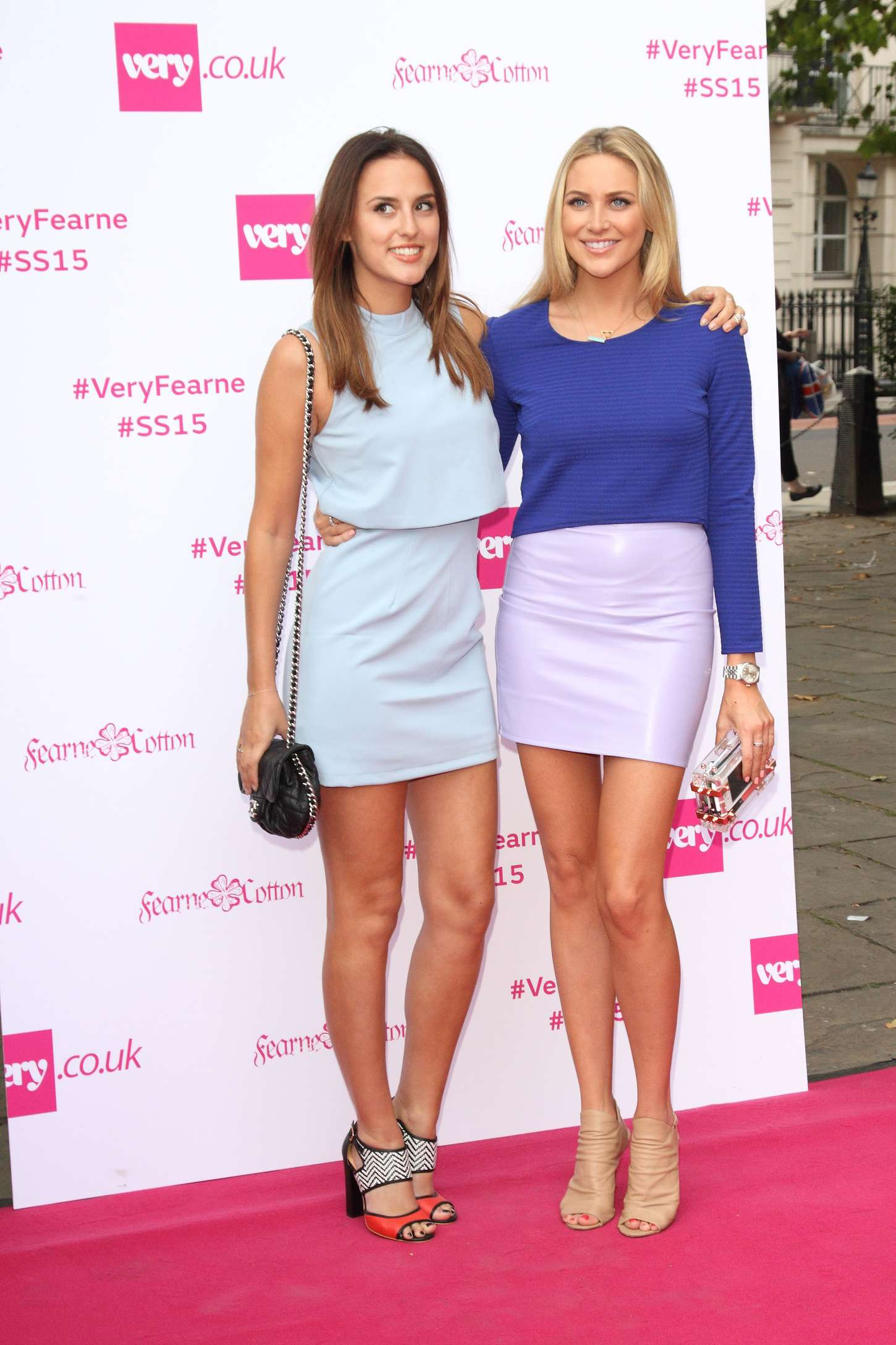Stephanie Pratt Fearne Cotton Fashion Show in London